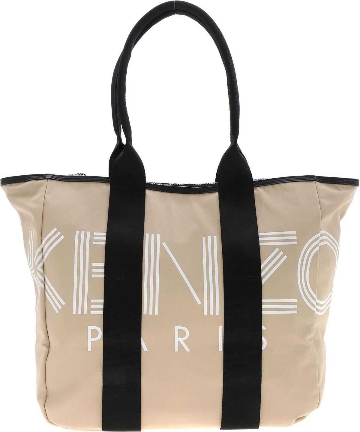 Kenzo Paris Tote Bag In Beige thumbnail