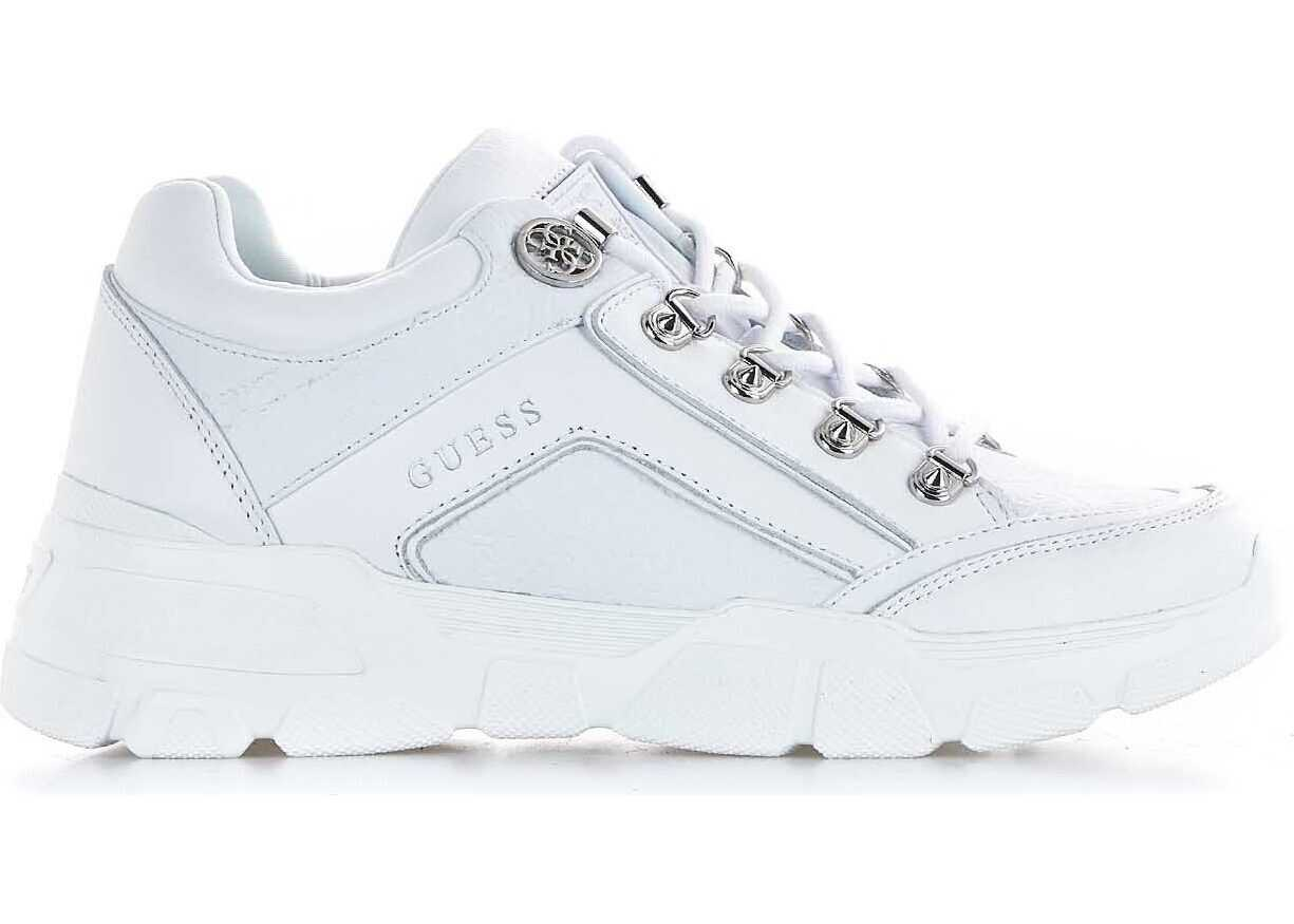 GUESS Chunky sneaker with logo imprint White