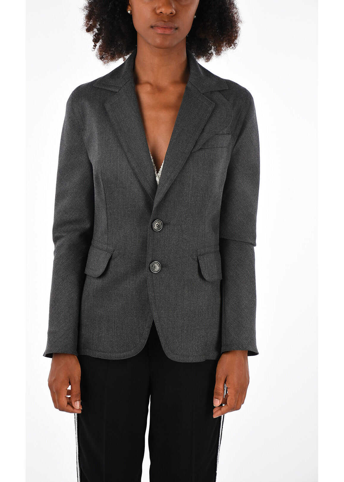 Stretch Virgin Wool Blazer thumbnail