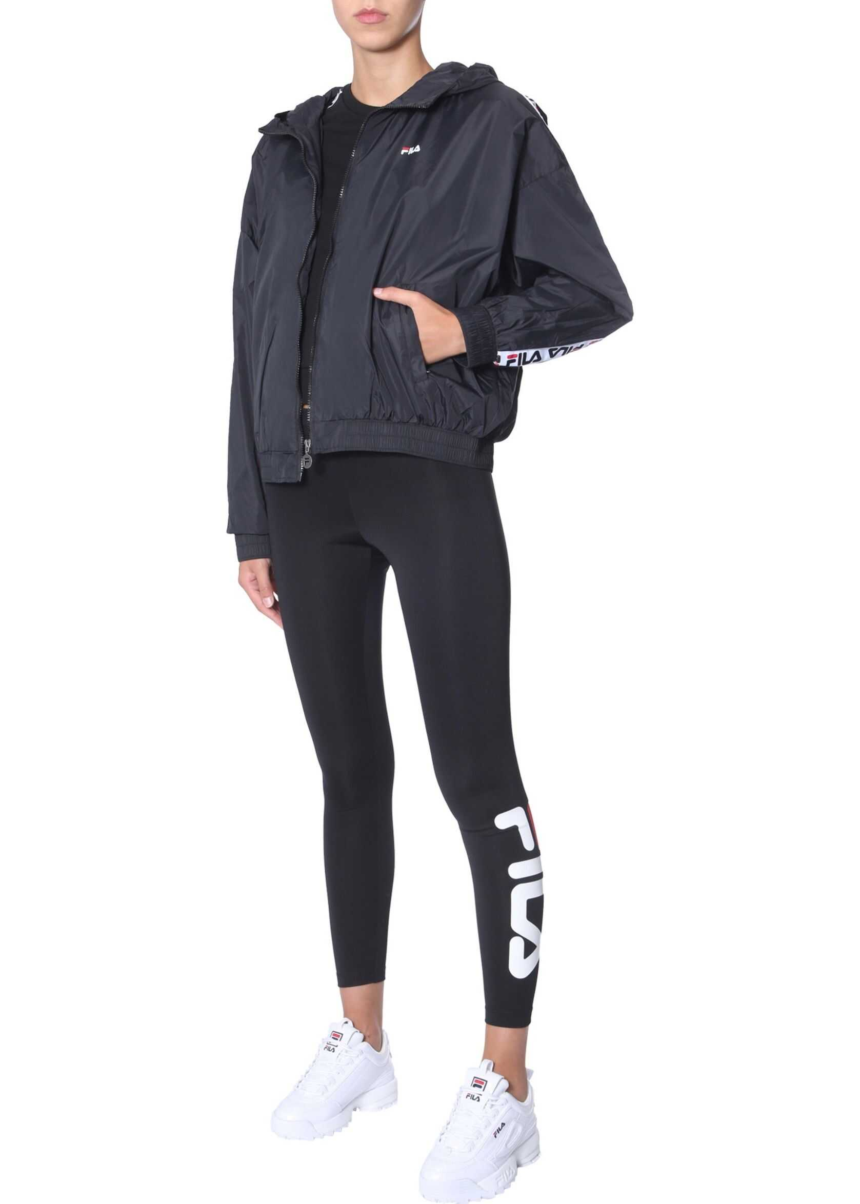 Fila Hooded Wind Jacket BLACK
