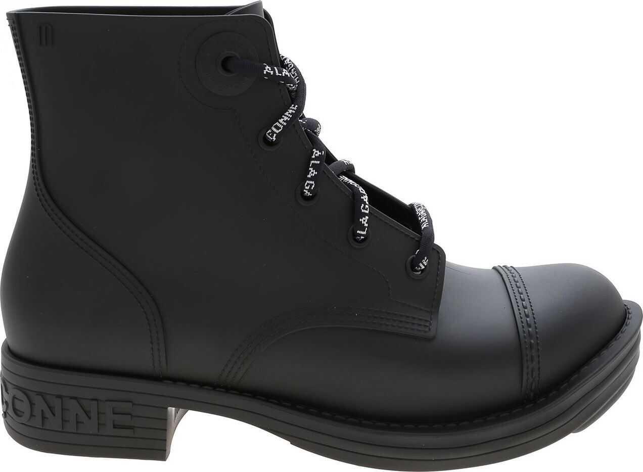 Melissa Coturno+A La Garconn Ankle Boots In Black thumbnail
