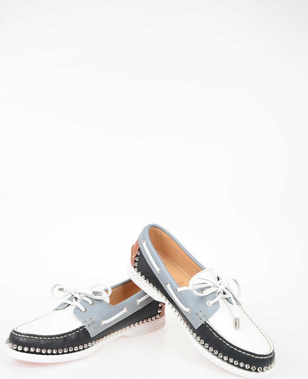 Christian Louboutin Studded Loafers MULTICOLOR