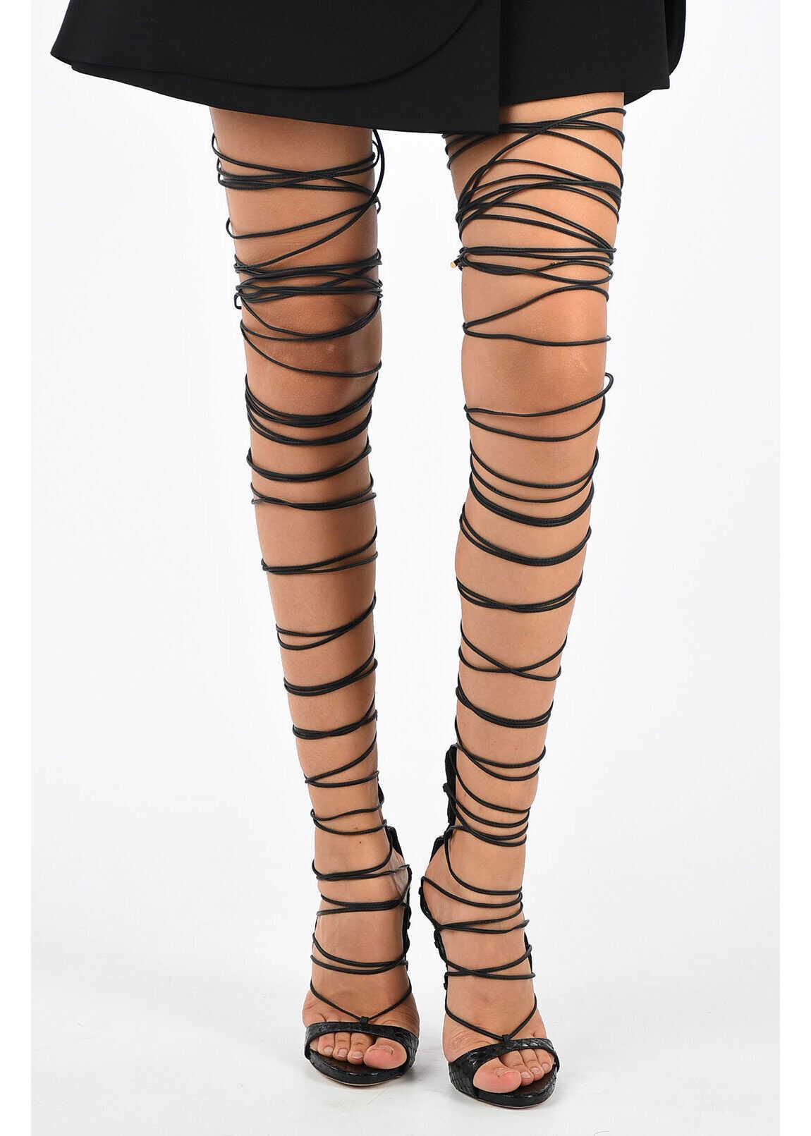 12cm Leather RIRI Sandals thumbnail