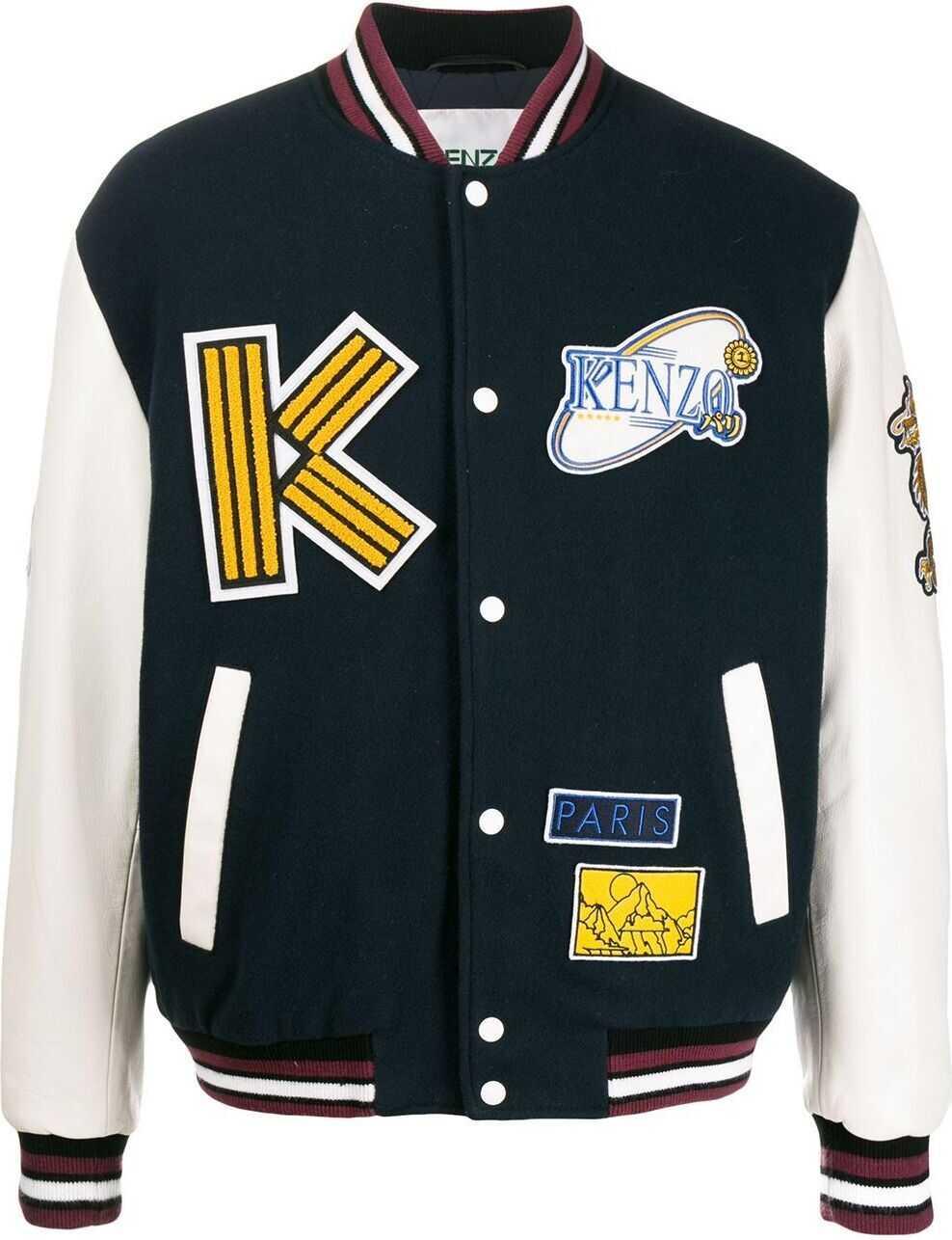 Kenzo Wool Jacket BLUE