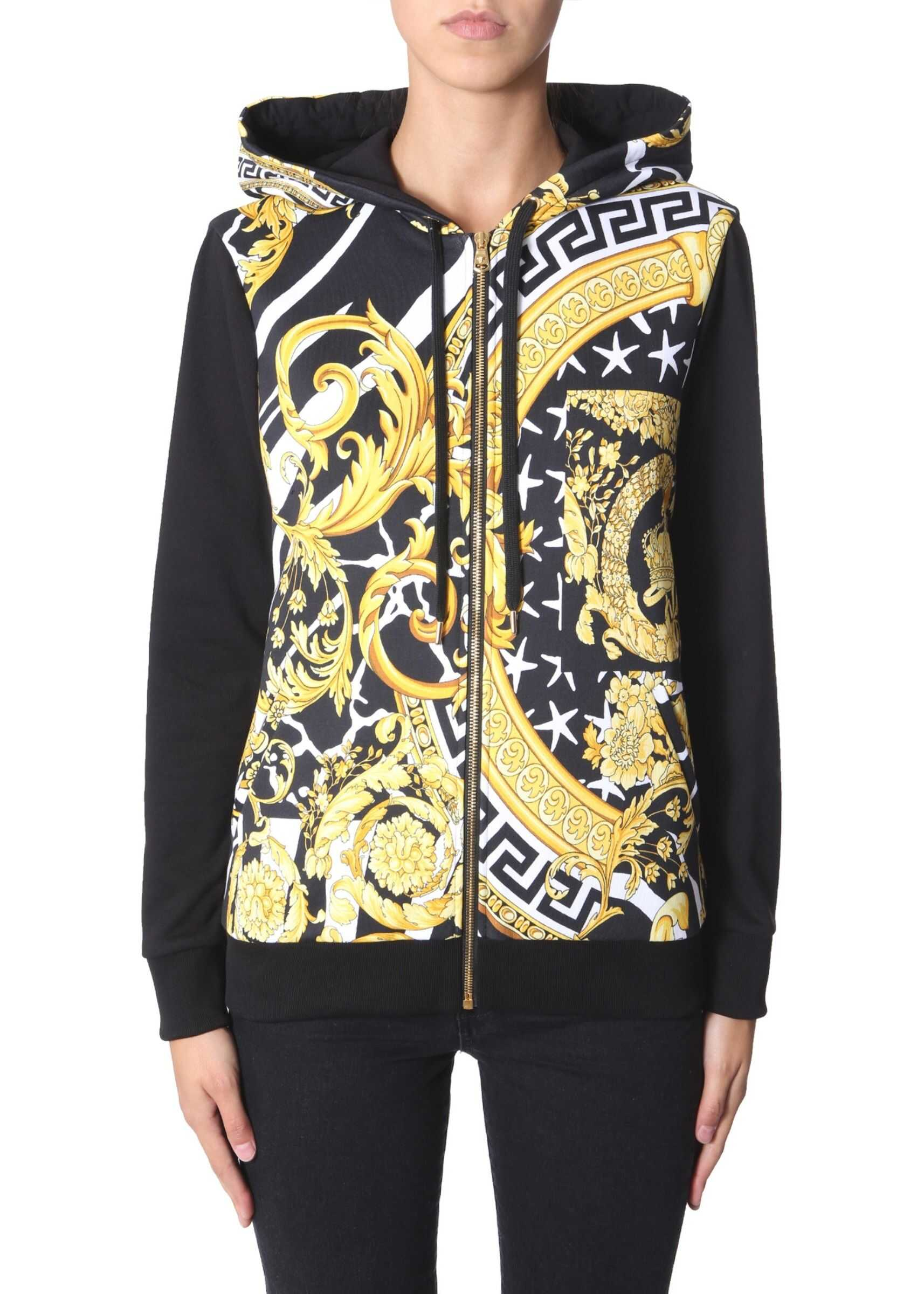 Versace Zip Sweatshirt BLACK