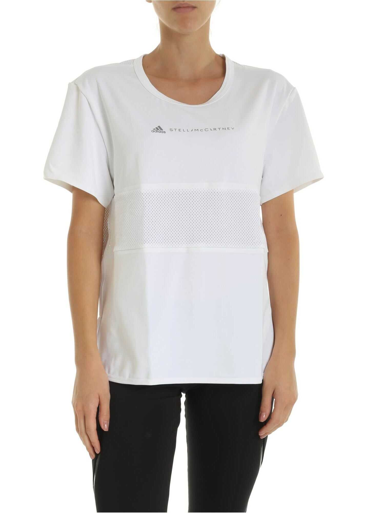 adidas by Stella McCartney Run Loose T-Shirt In White White