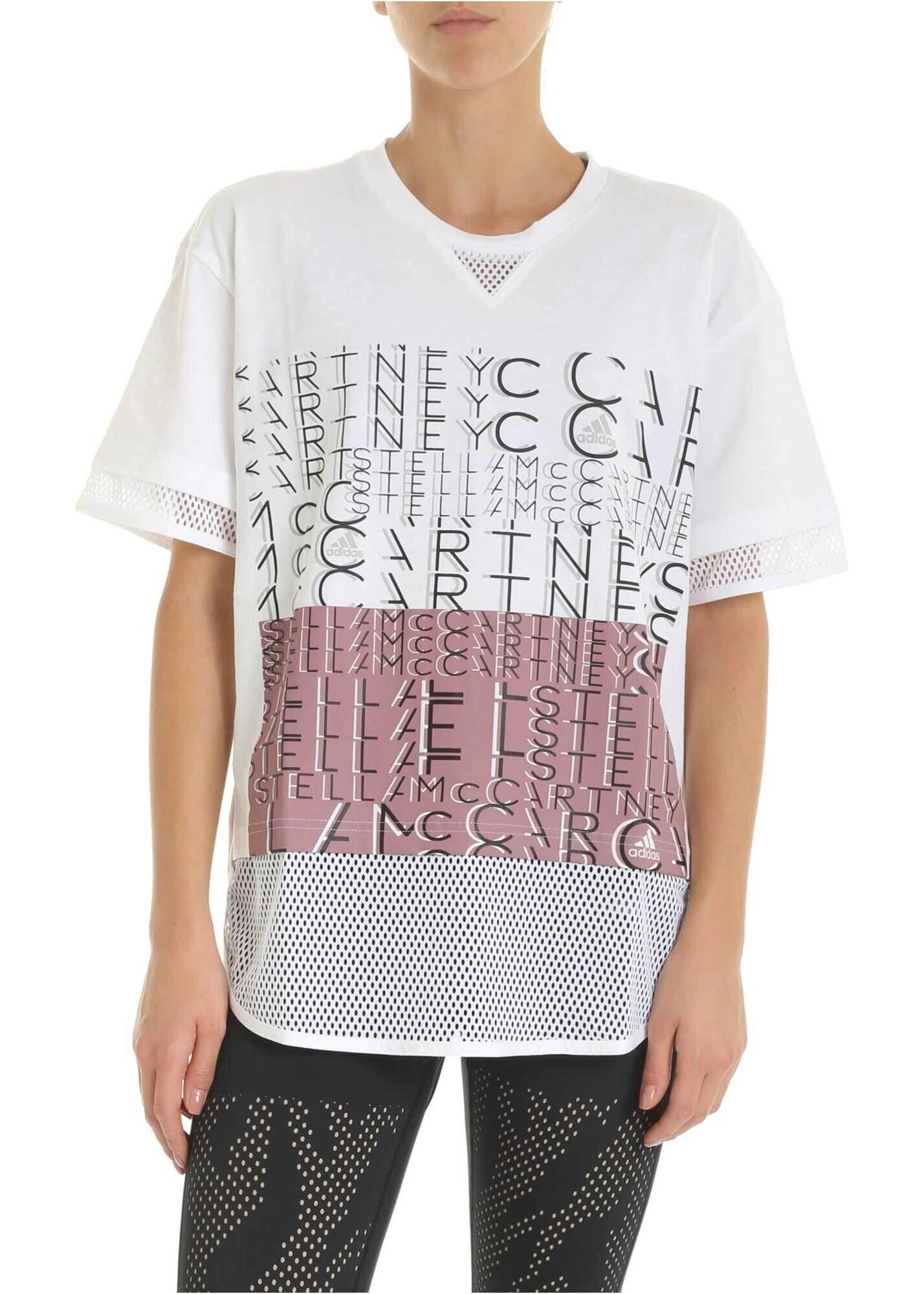 adidas by Stella McCartney Logo Tee T-Shirt In White White