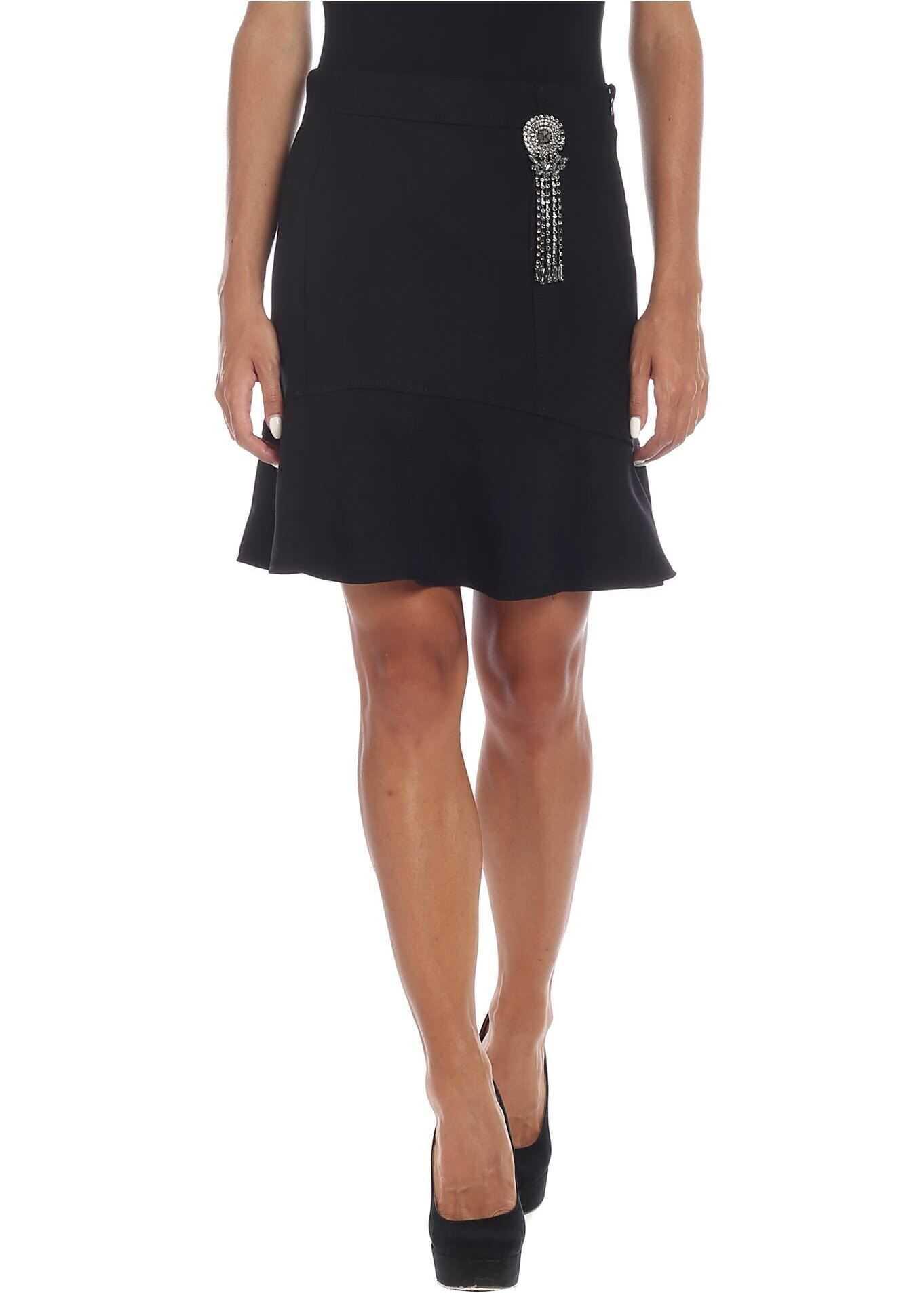 Pinko Sincerare Skirt In Black Black