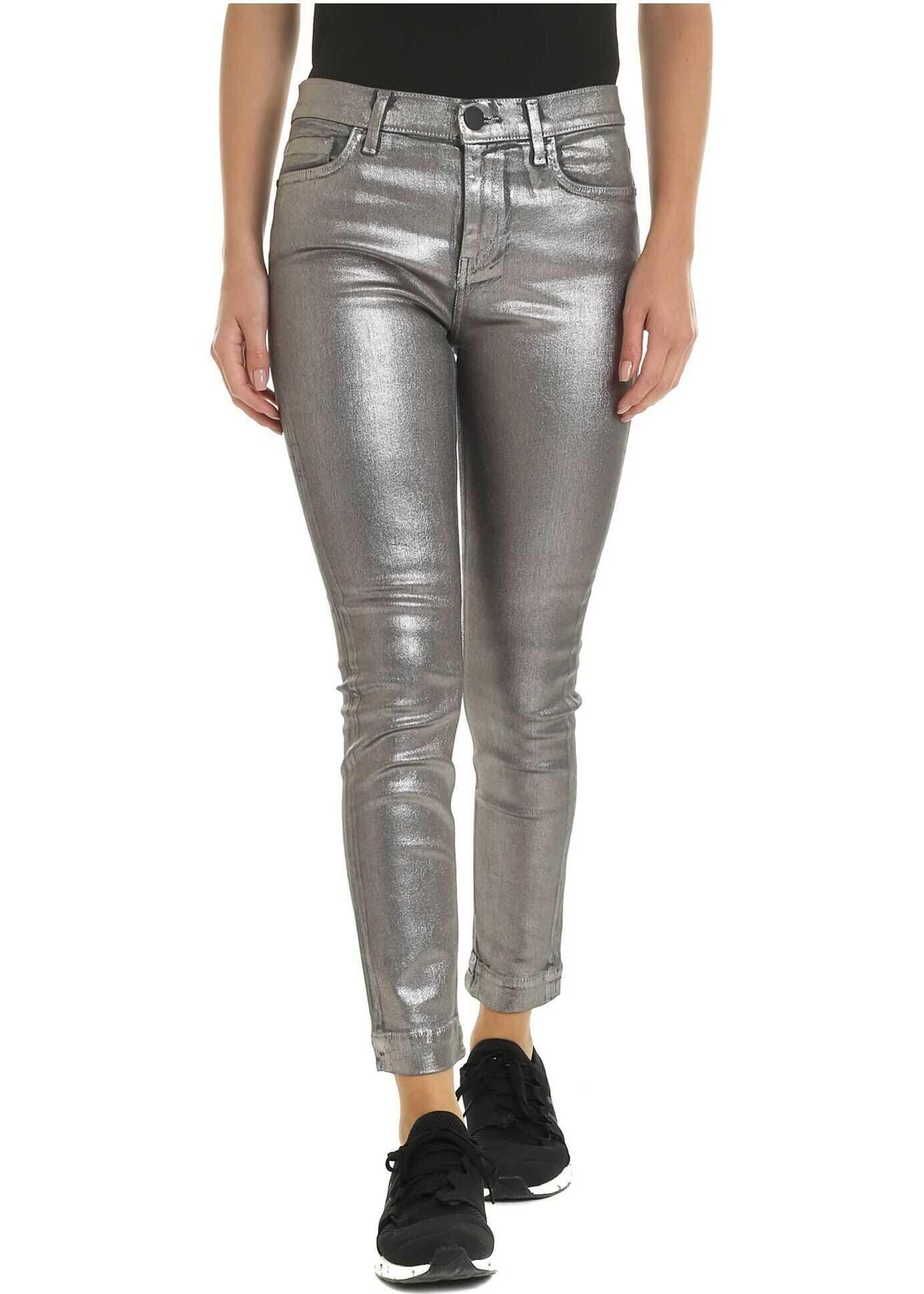 Sabrina Pants In Silver Color thumbnail