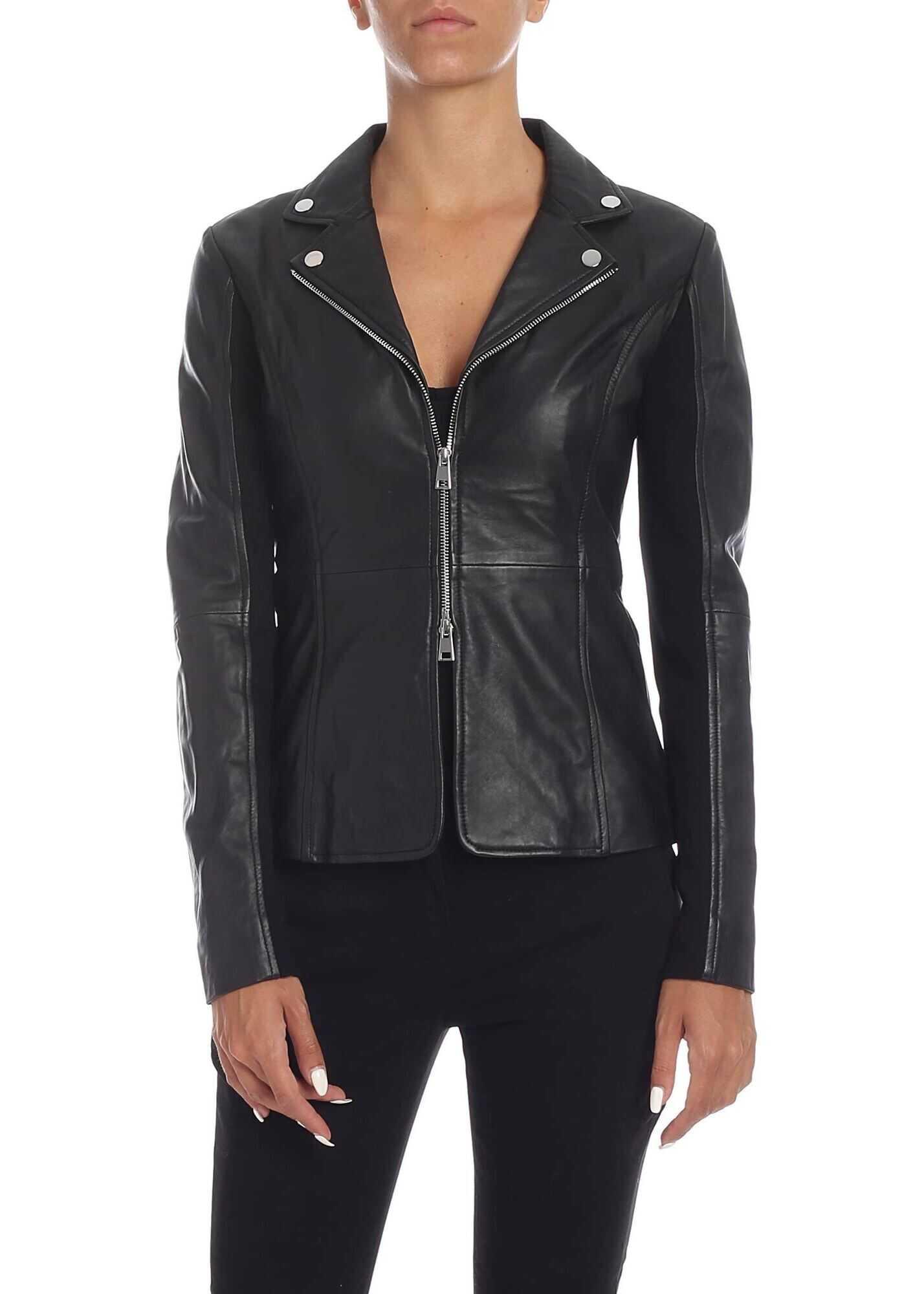 Pinko Stravedere Jacket In Black Black