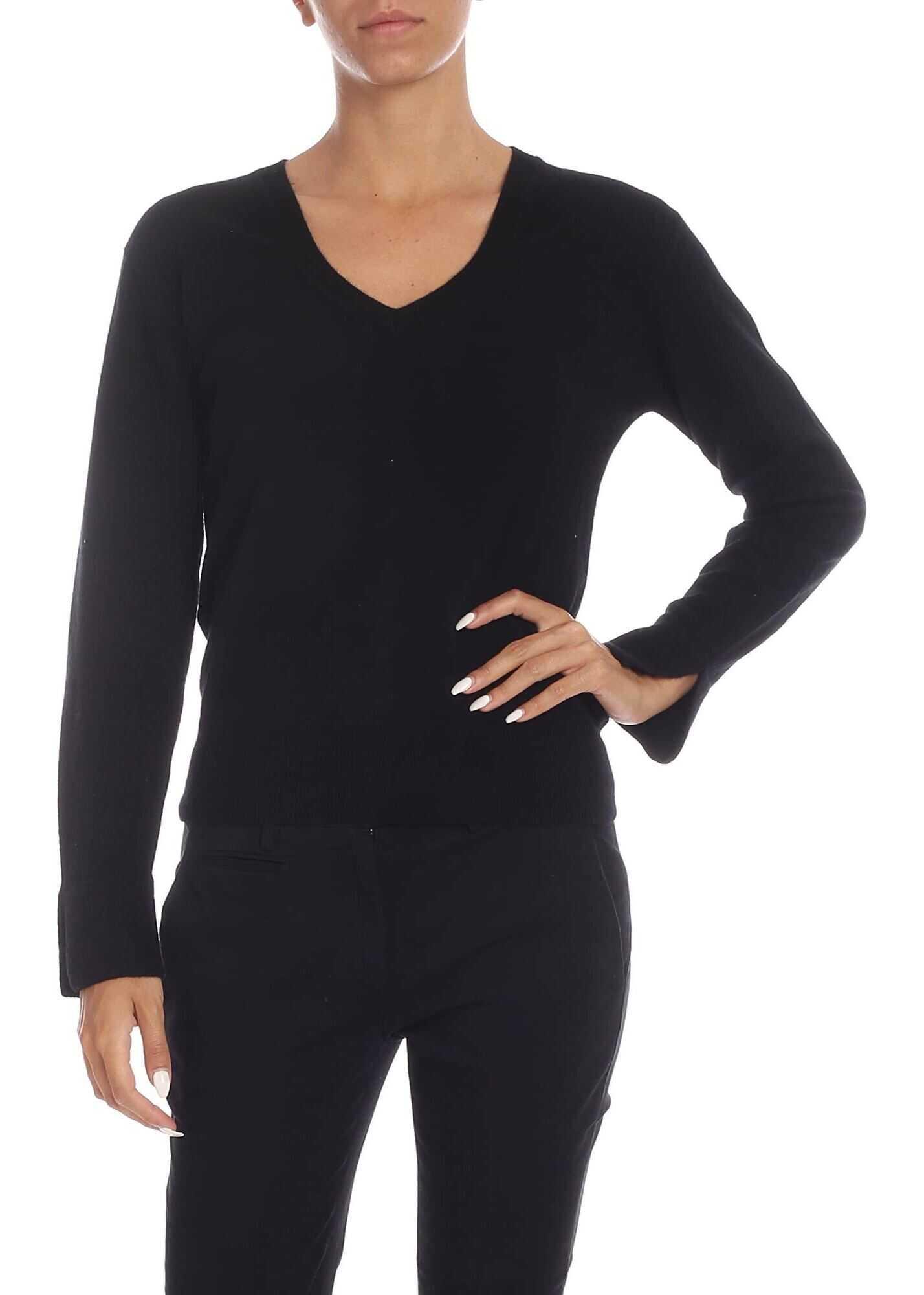 Spesso Pullover In Black thumbnail