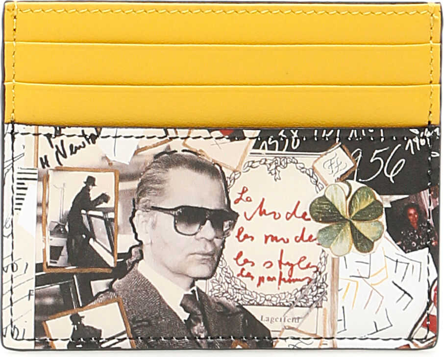 Fendi Karl Kollage Cardholder thumbnail