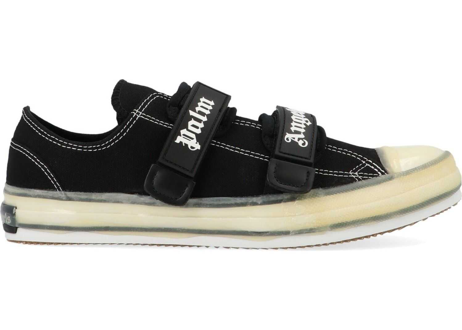 Palm Angels Cotton Sneakers BLACK
