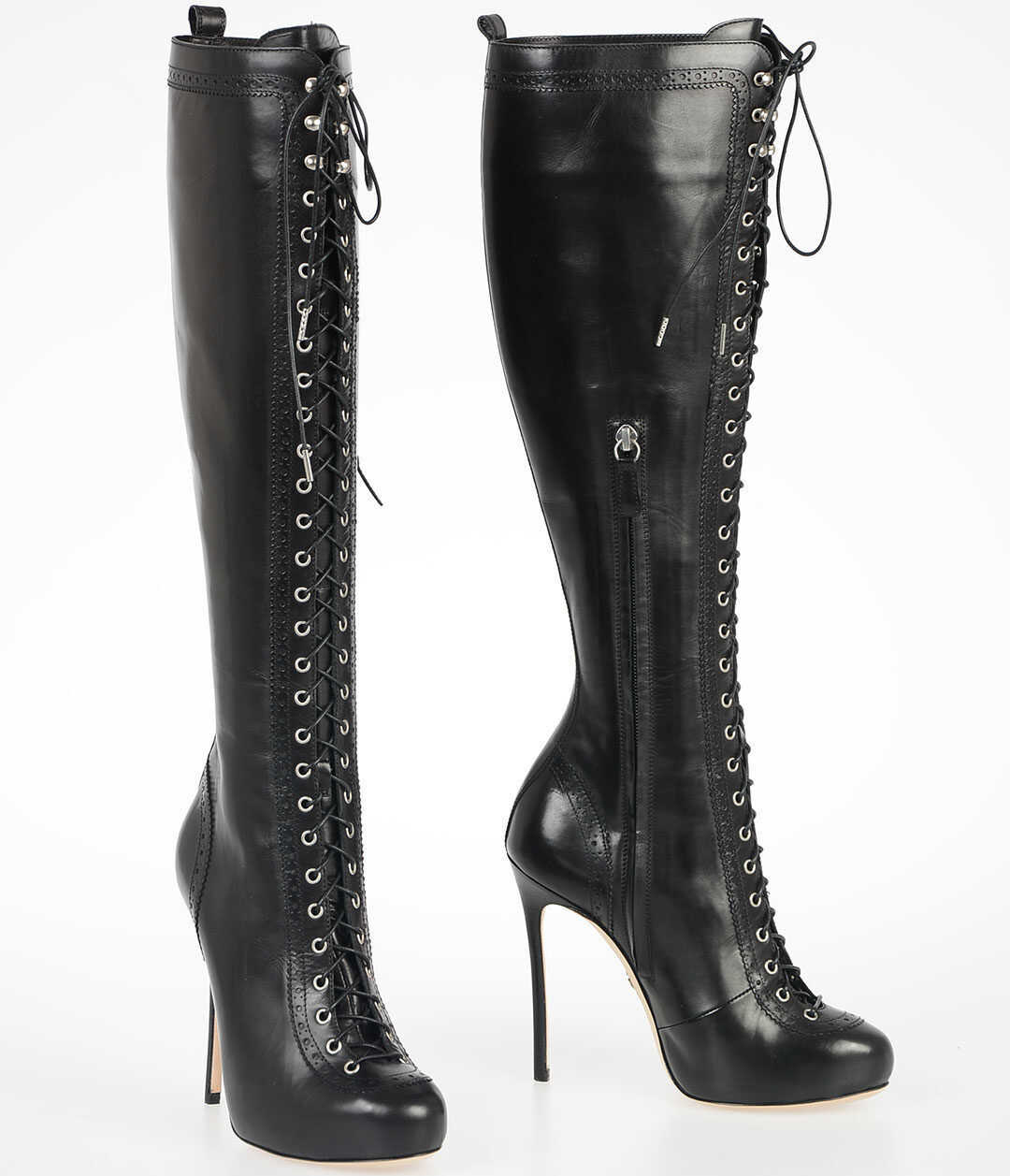 12cm Leather WITNESS Boots thumbnail
