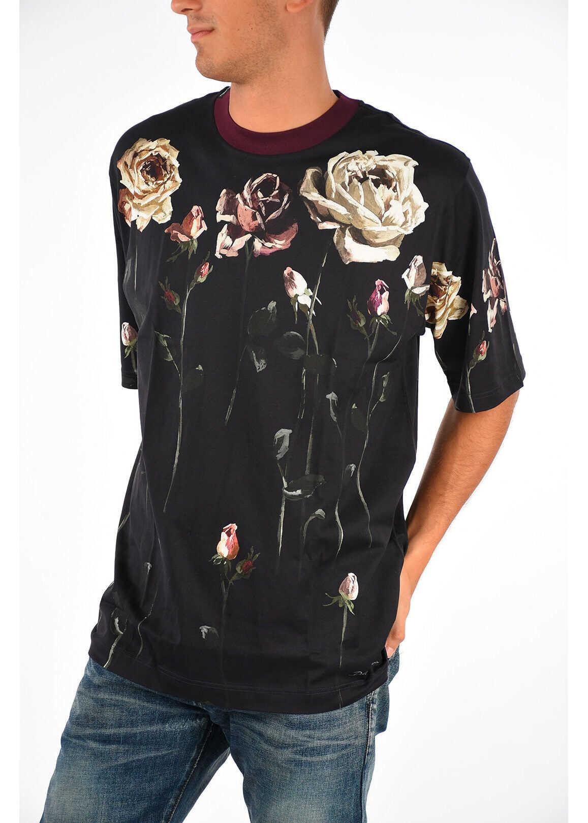 Printed Flowers T-Shirt