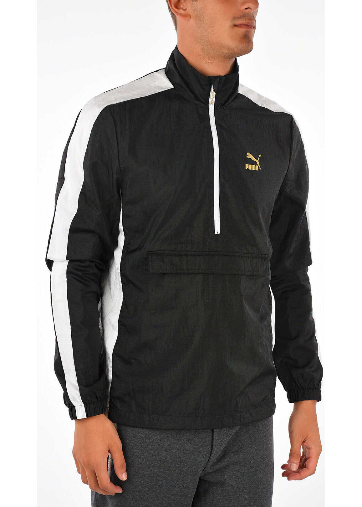 PUMA Nylon Jacket BLACK