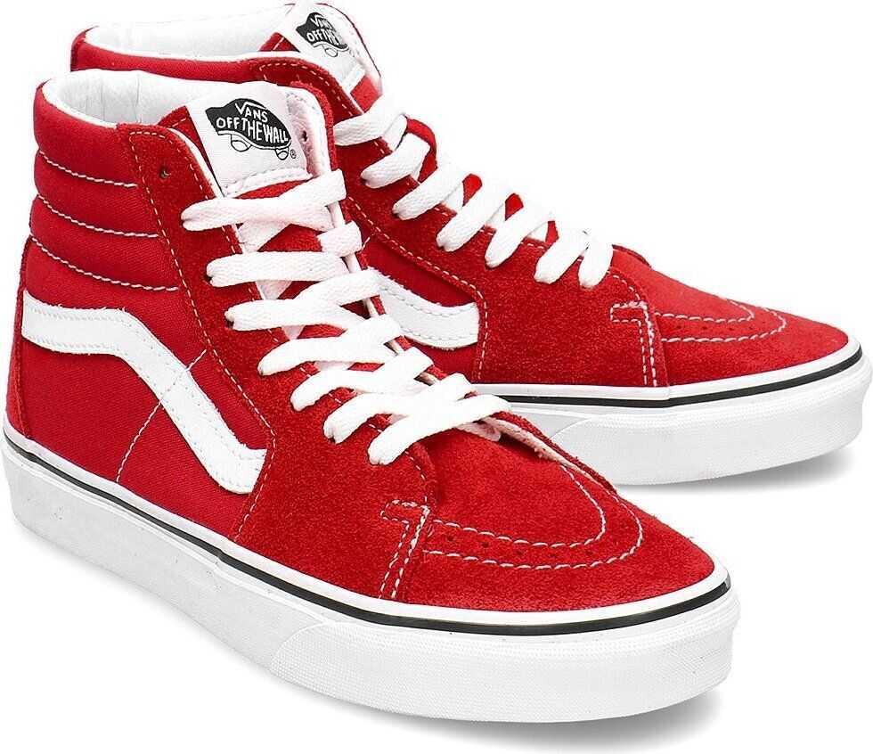 Vans Sk8-Hi Czerwony