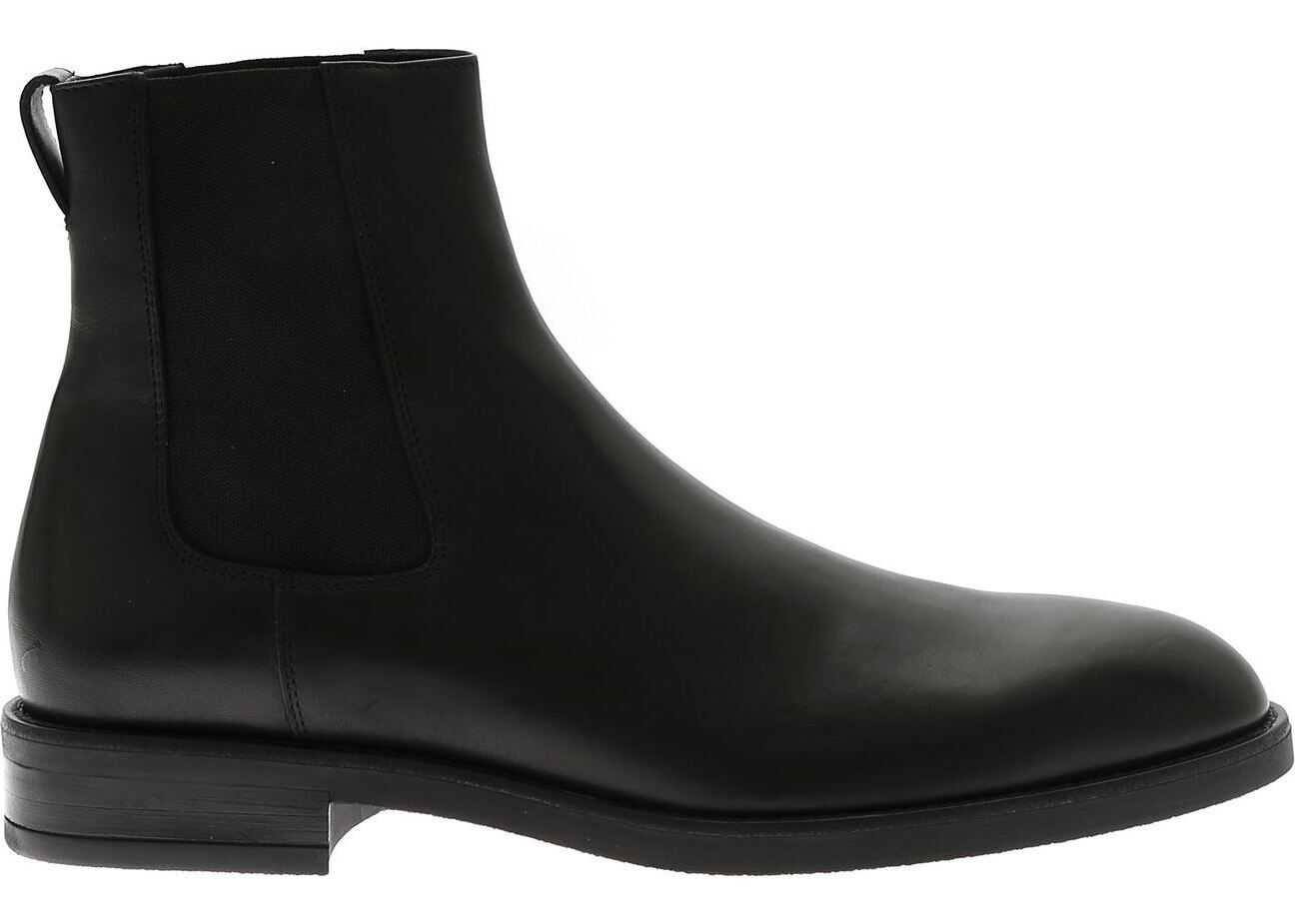 Paul Smith Chelsea Canon Ankle Boots In Black Black