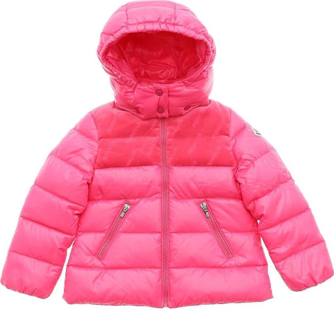 Raspal Down Jacket In Fuchsia thumbnail