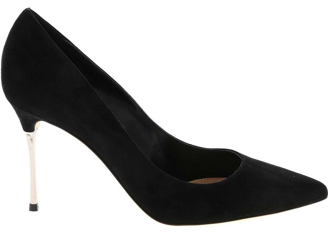 Pointed Pumps In Black thumbnail