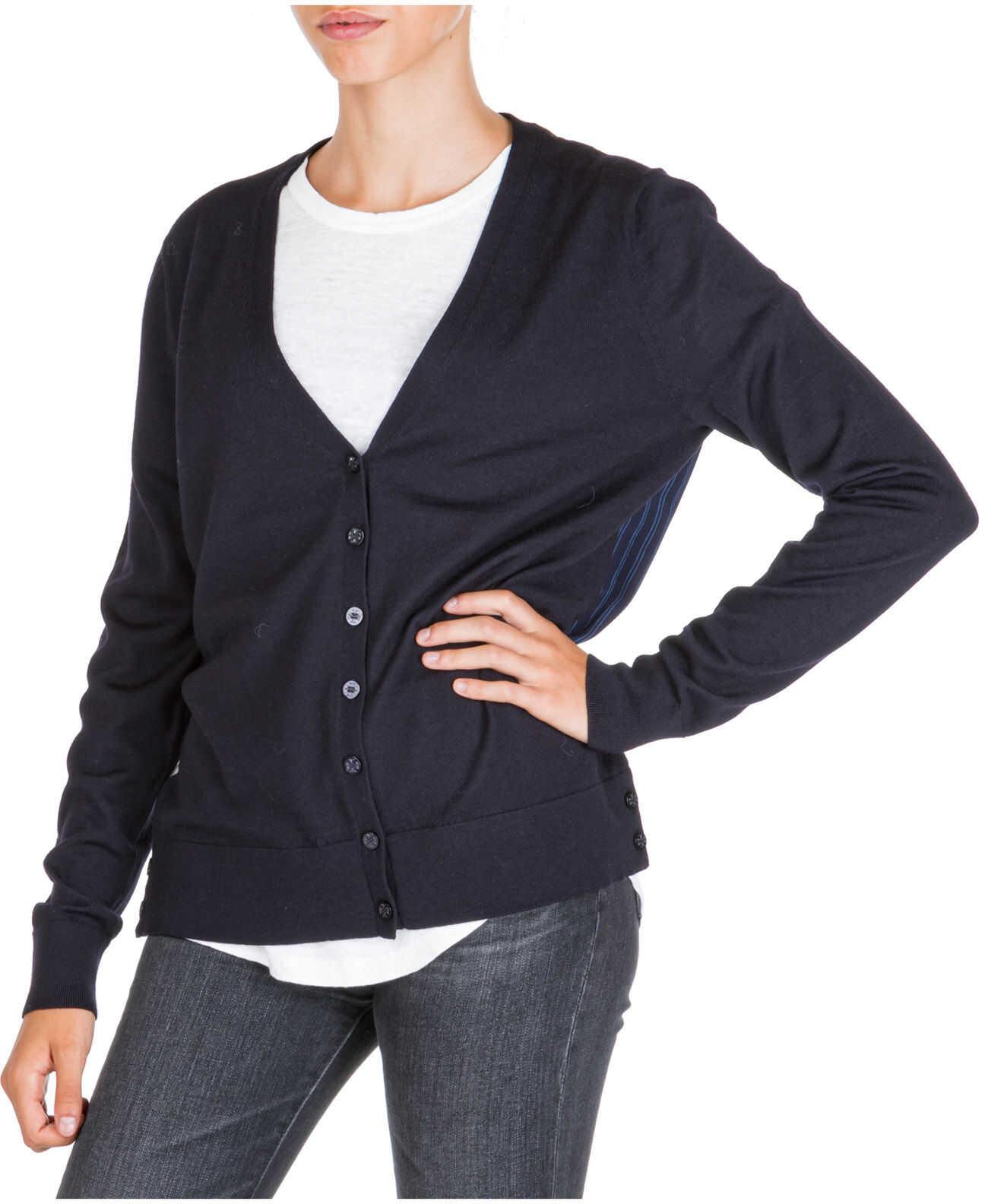 Tory Burch Cardigan Sweater Blue