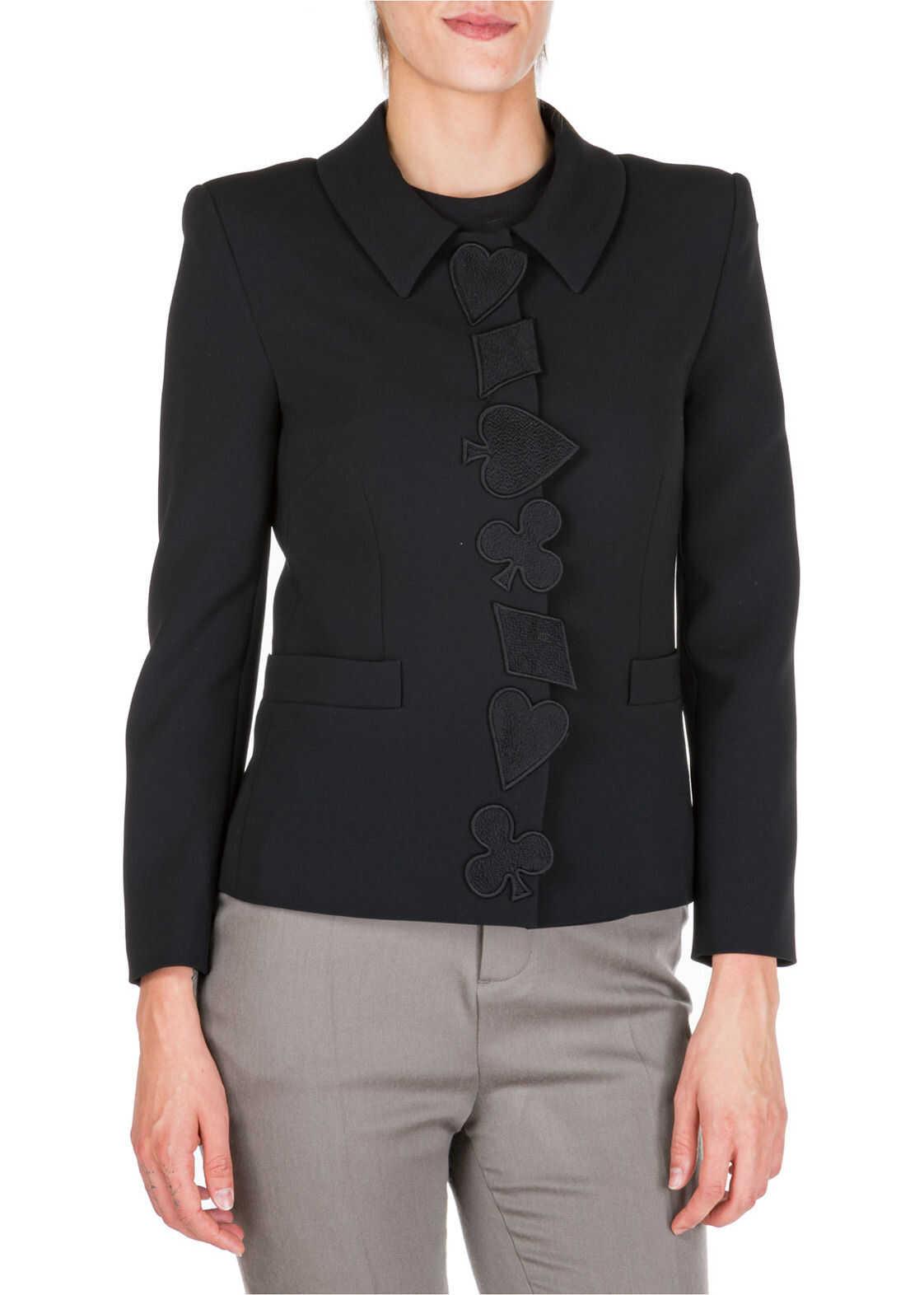 LOVE Moschino Jacket Blazer Black