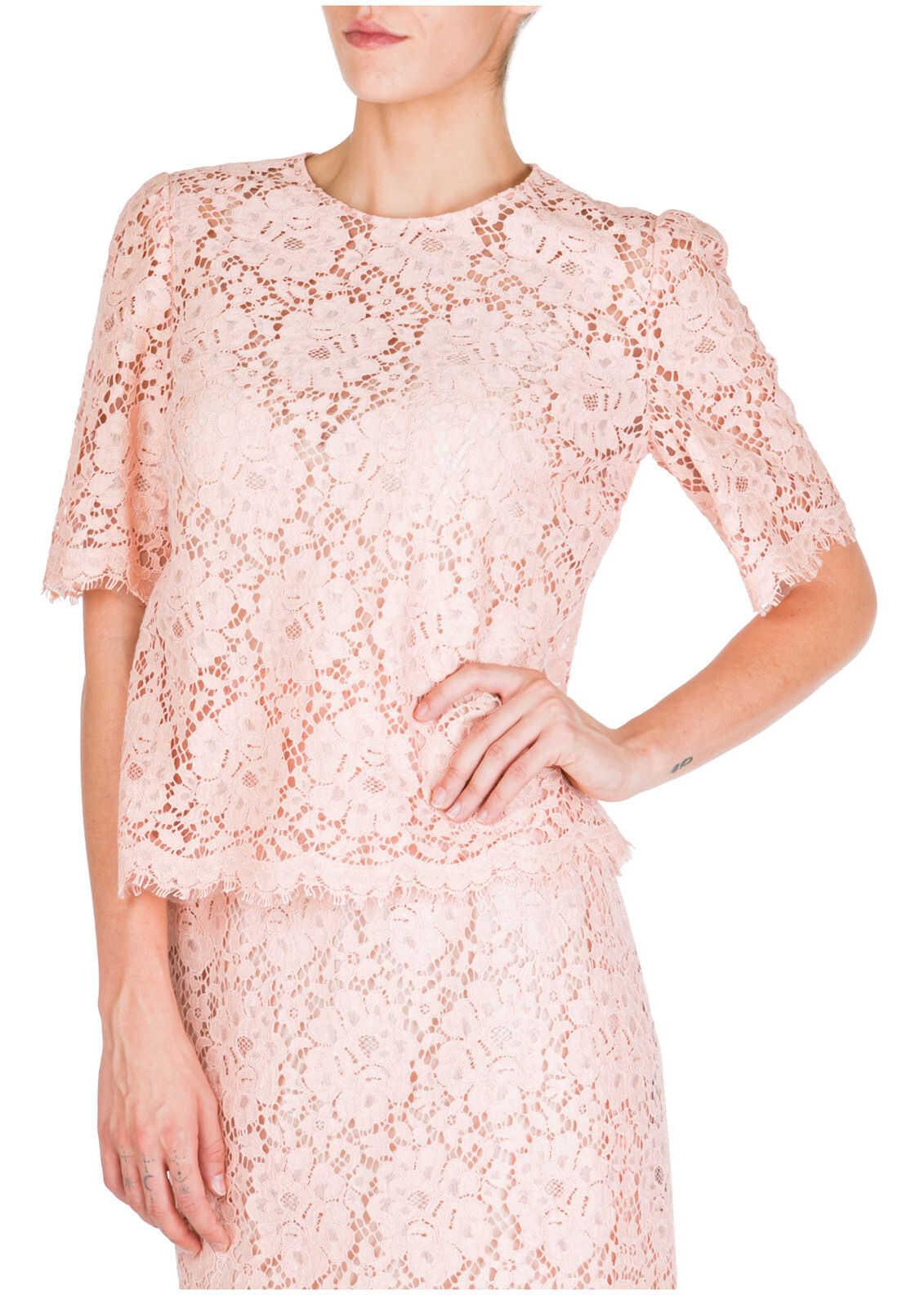 Dolce & Gabbana Short Sleeve Pink