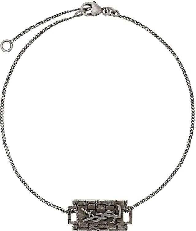 Saint Laurent Metal Bracelet SILVER