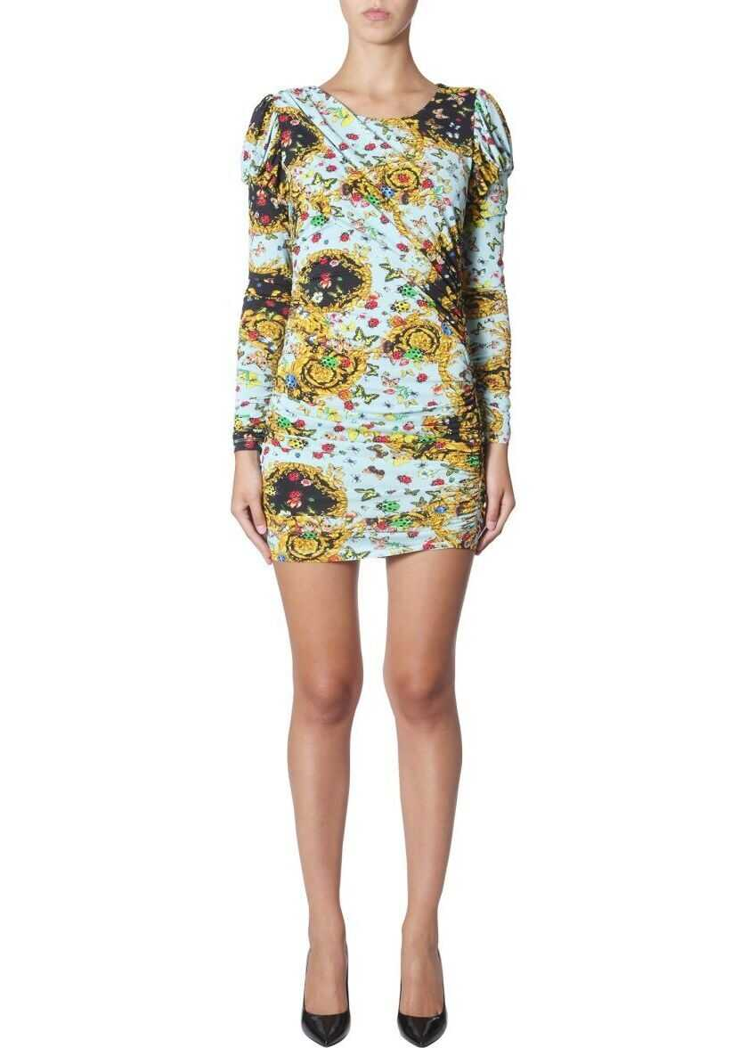 Versace Jeans Viscose Dress MULTICOLOR
