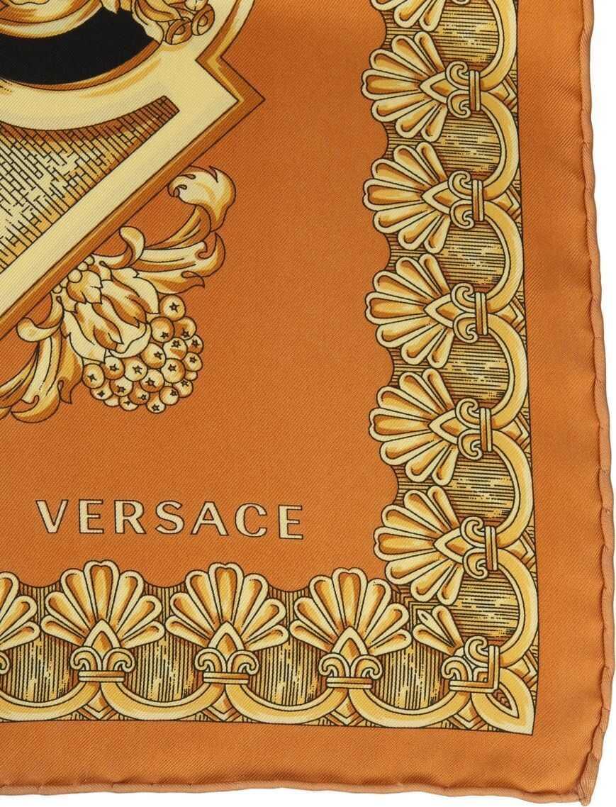 Versace Silk Foulard BEIGE