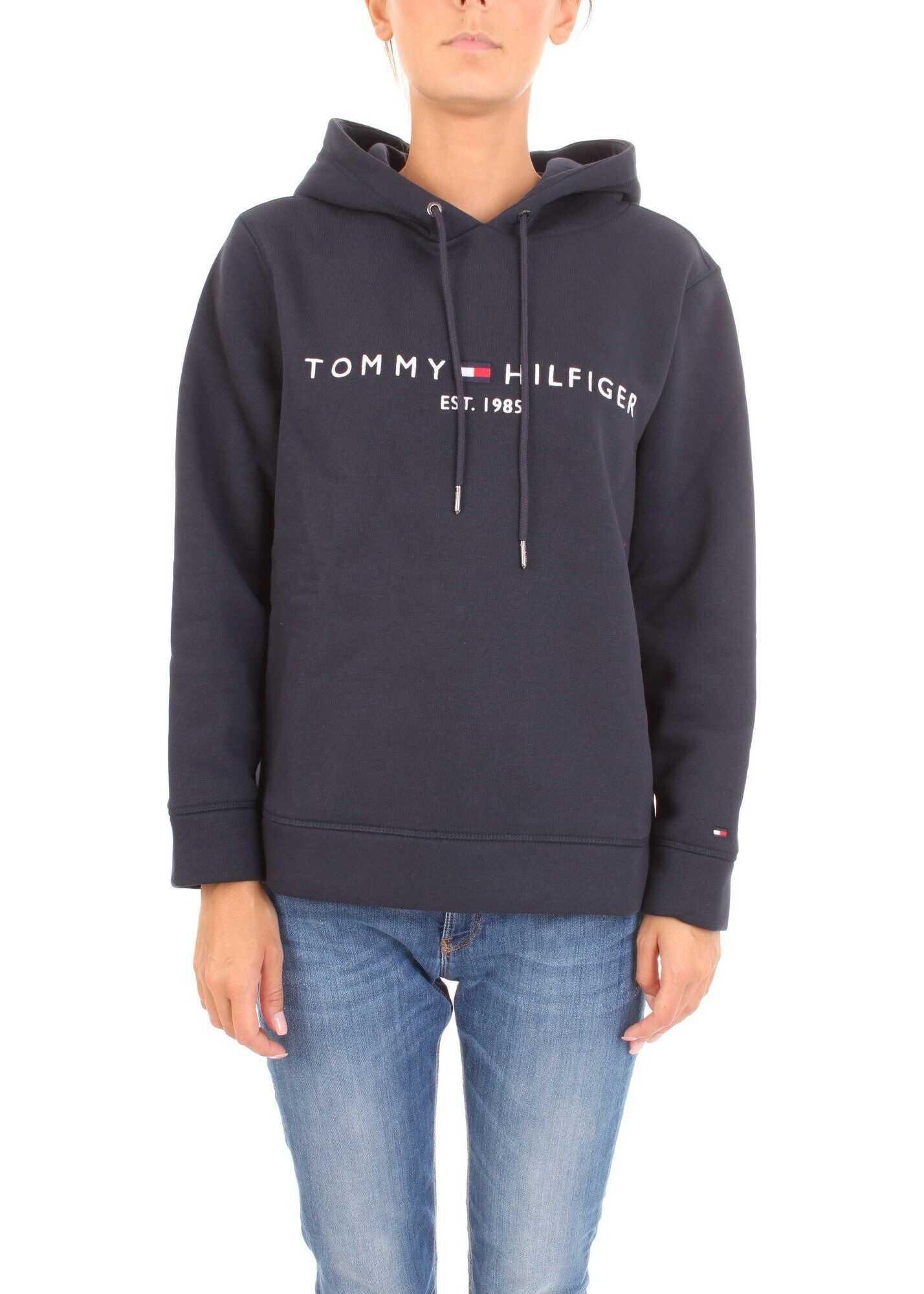Tommy Hilfiger Cotton Sweatshirt BLUE