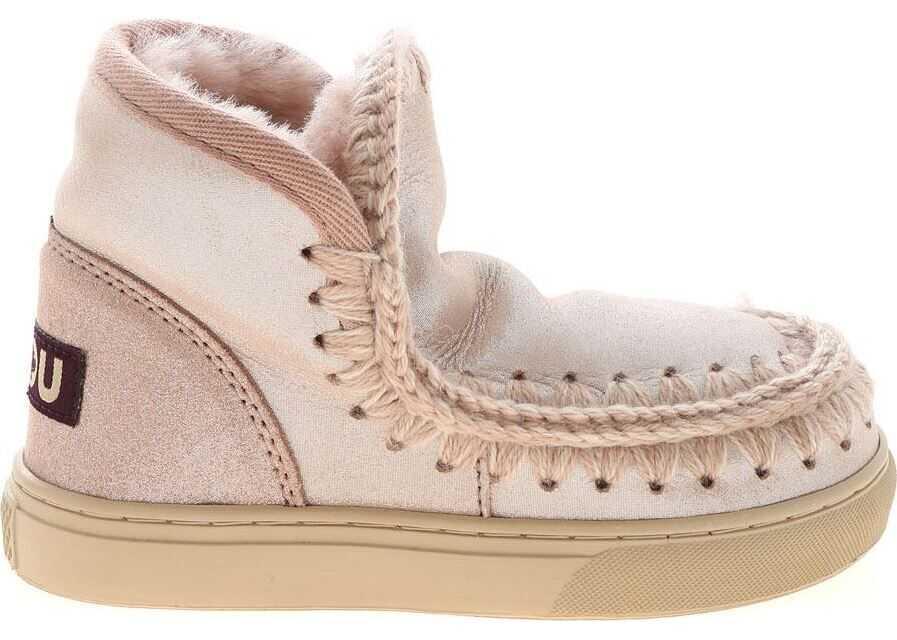 Mou Eskimo Sneaker Kid Sneakers In Pink Pink