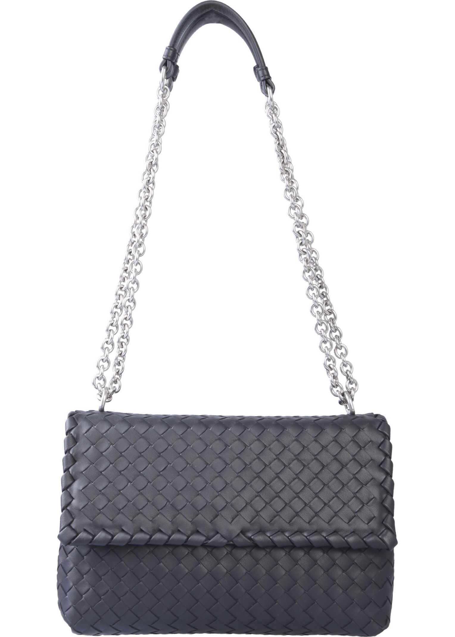 Bottega Veneta Small Olimpia Bag BLACK