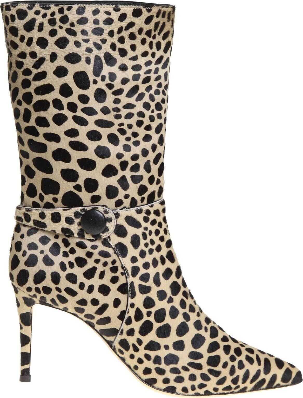 Giuseppe Zanotti Feline Boot In Animal Print Animal print