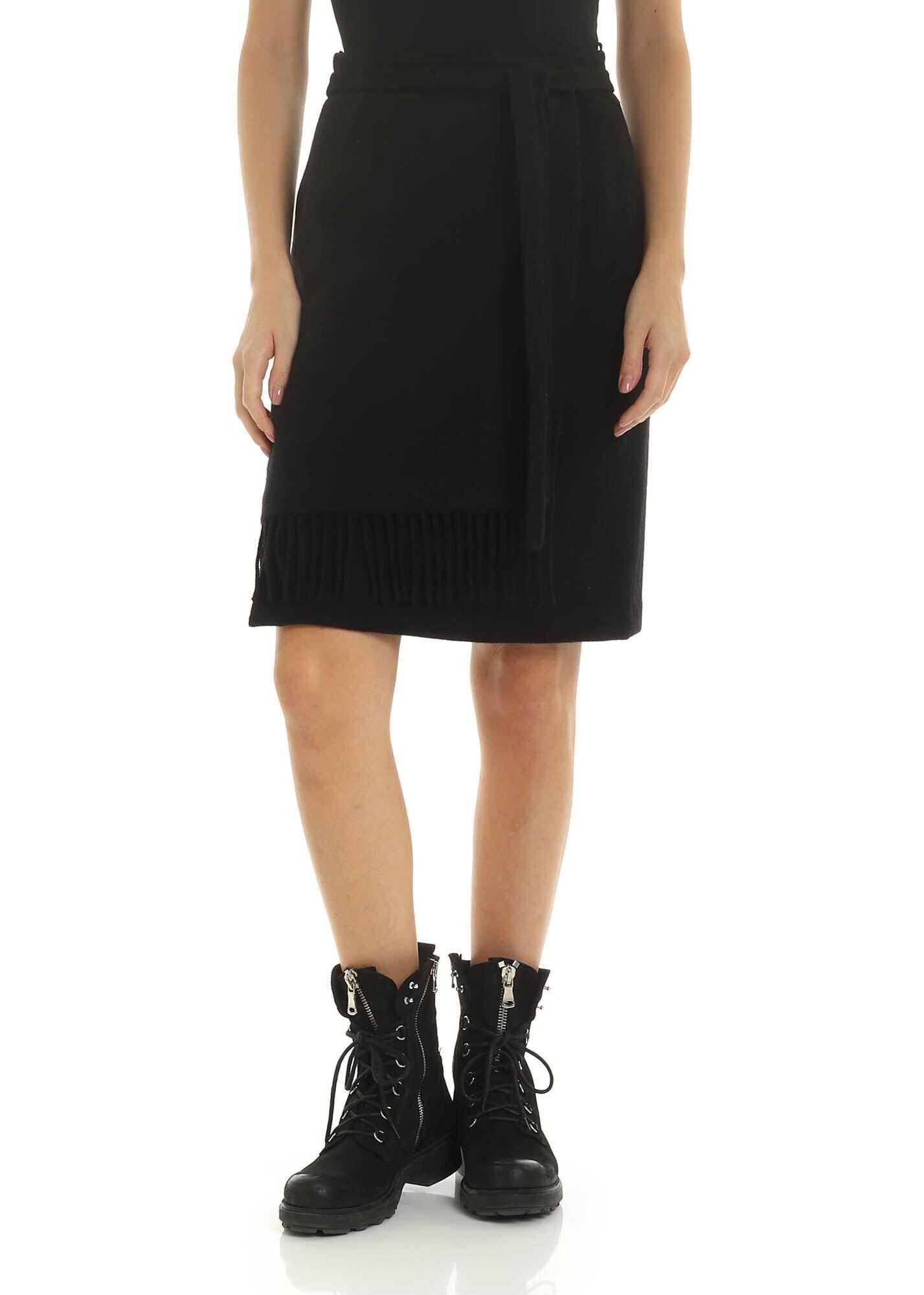 Wool Fringed Skirt thumbnail