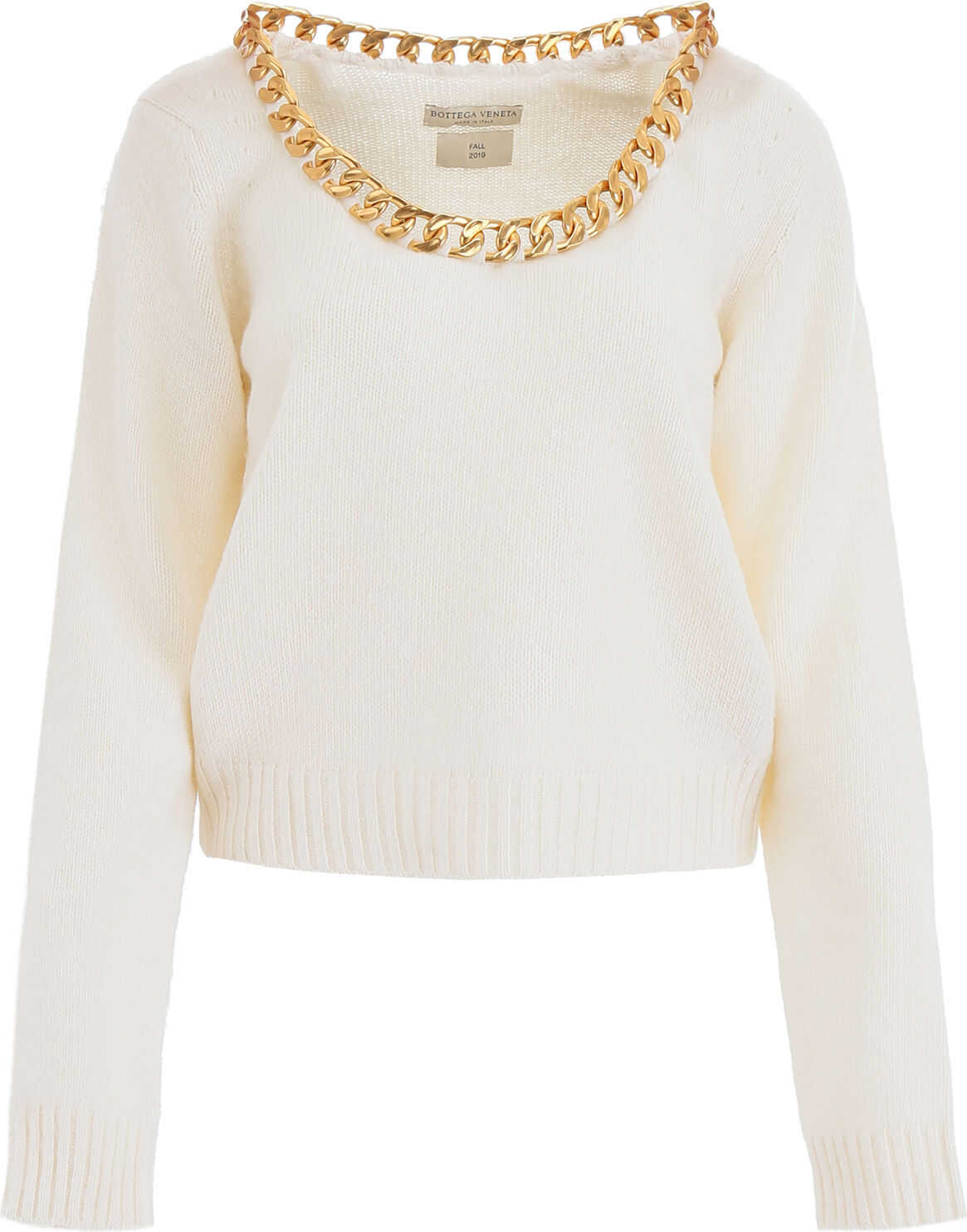 Bottega Veneta Chain Knit OFF WHITE