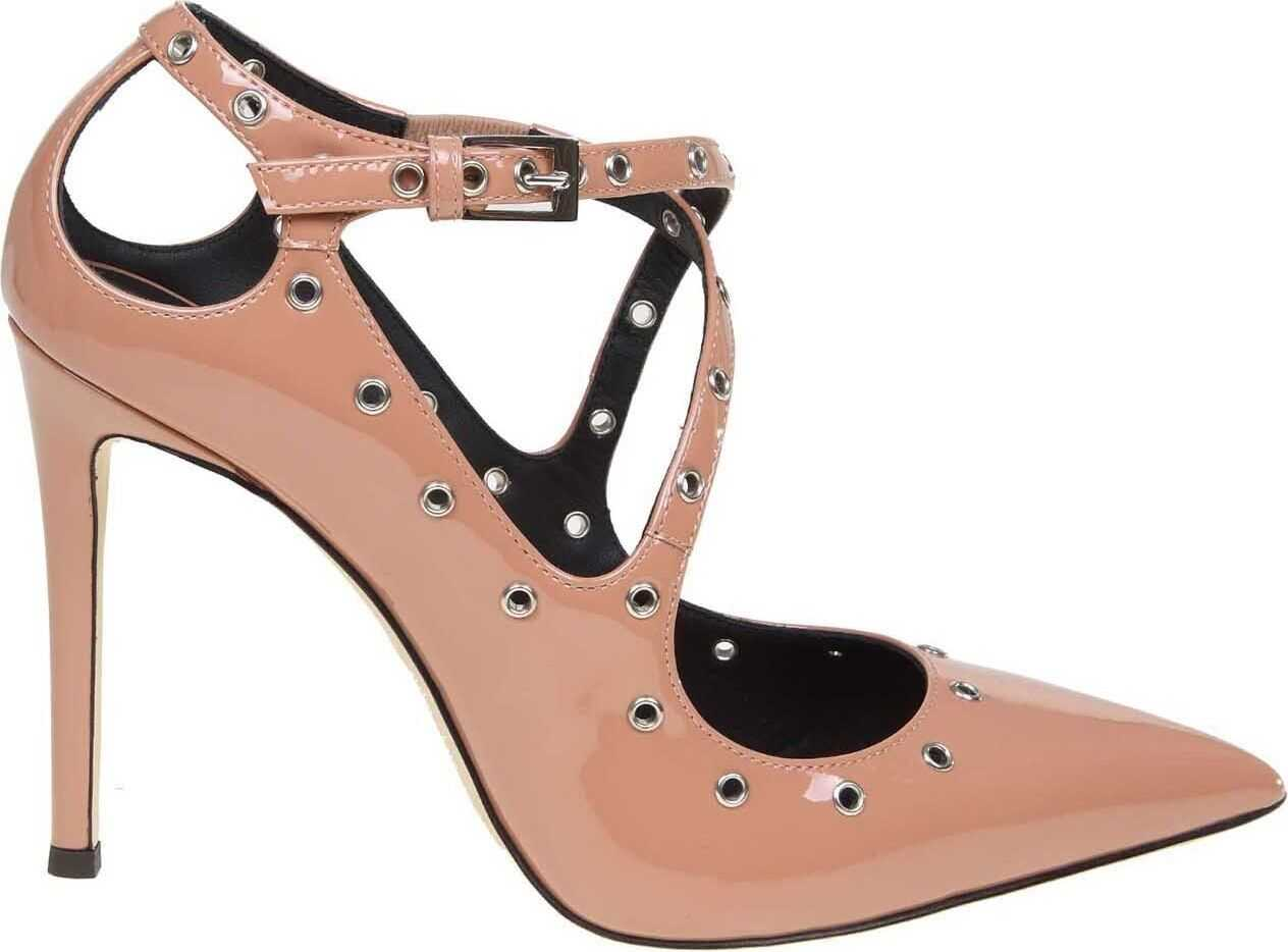 Alyson Pumps In Pink Patent Leather thumbnail