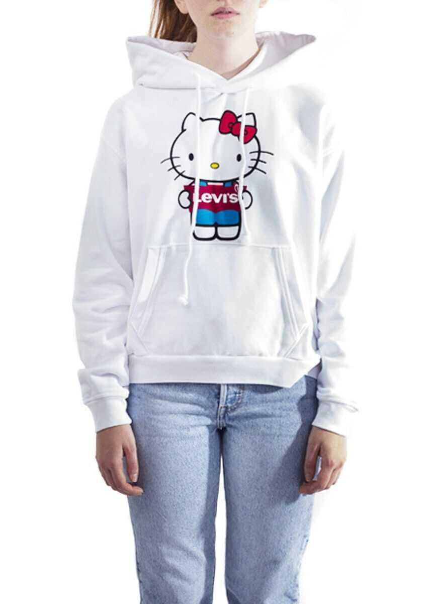 Levi's® Cotton Sweatshirt WHITE