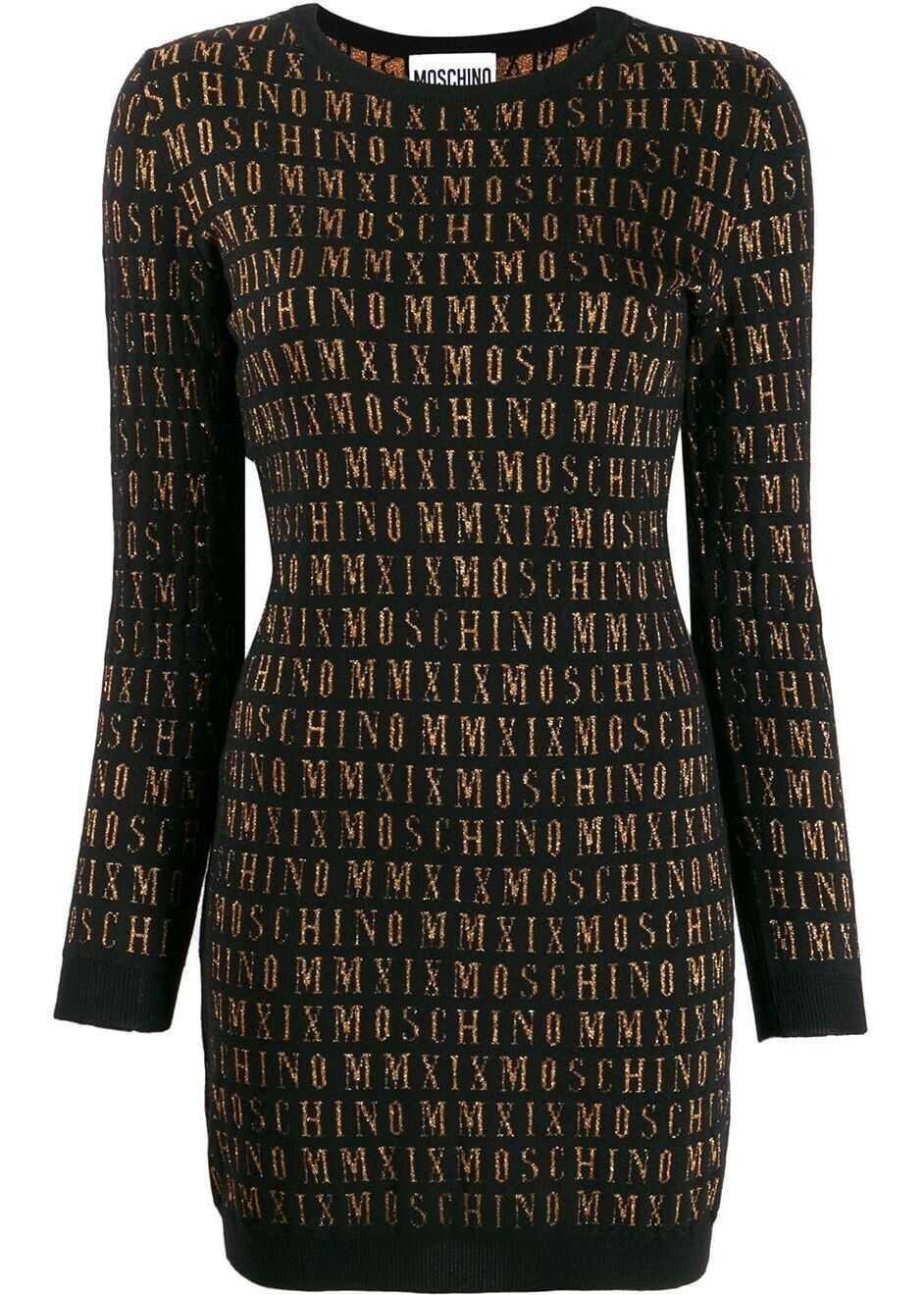 Moschino Wool Dress BLACK