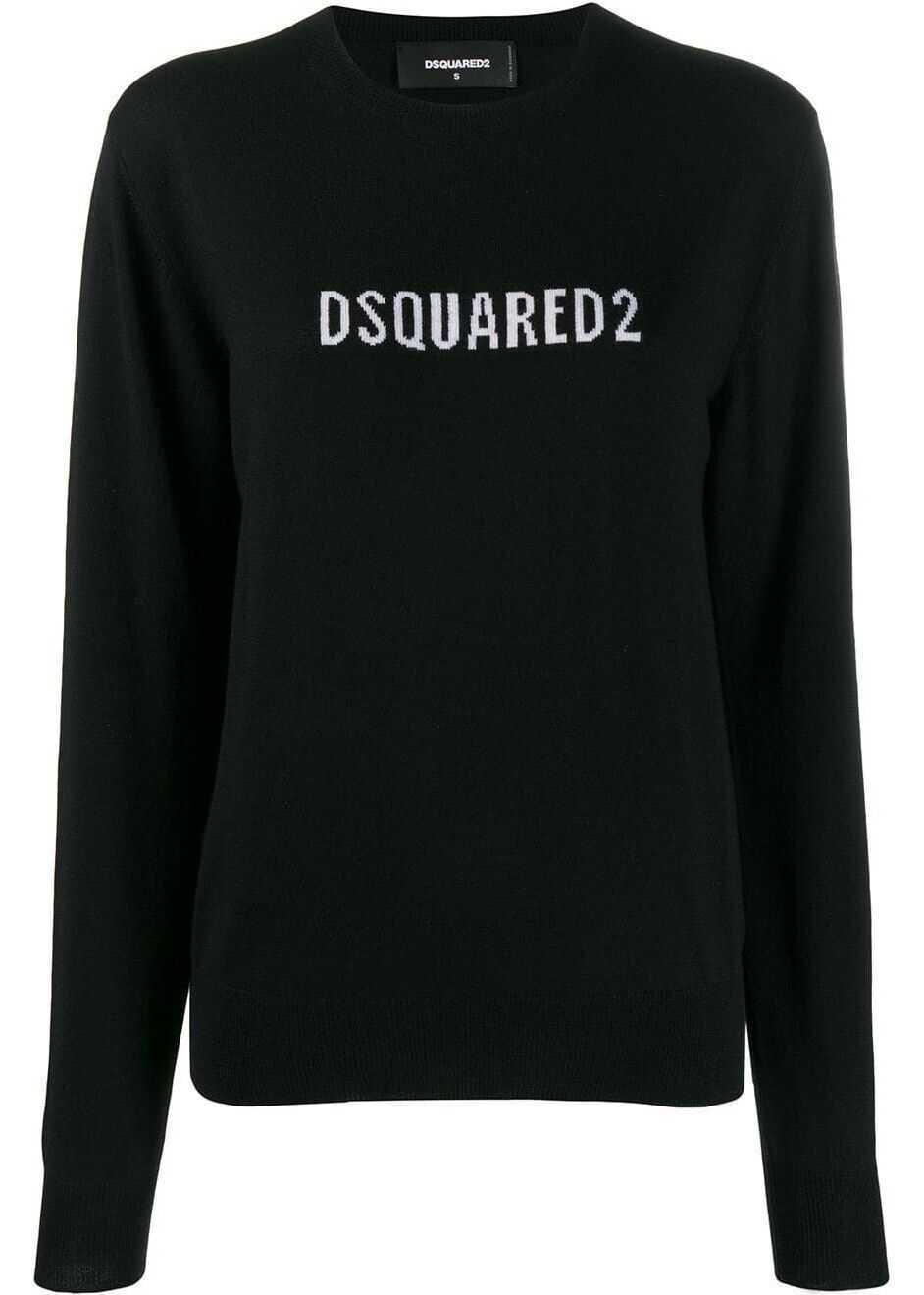 DSQUARED2 Wool Sweater BLACK