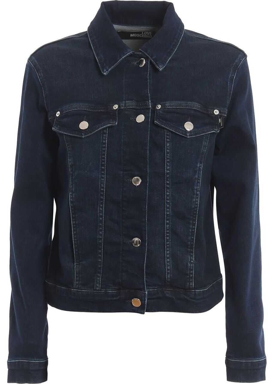 LOVE Moschino Cotton Jacket BLUE