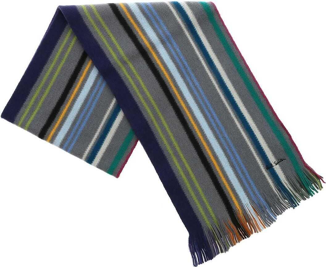 Paul Smith Multicolor Striped Scarf Multi