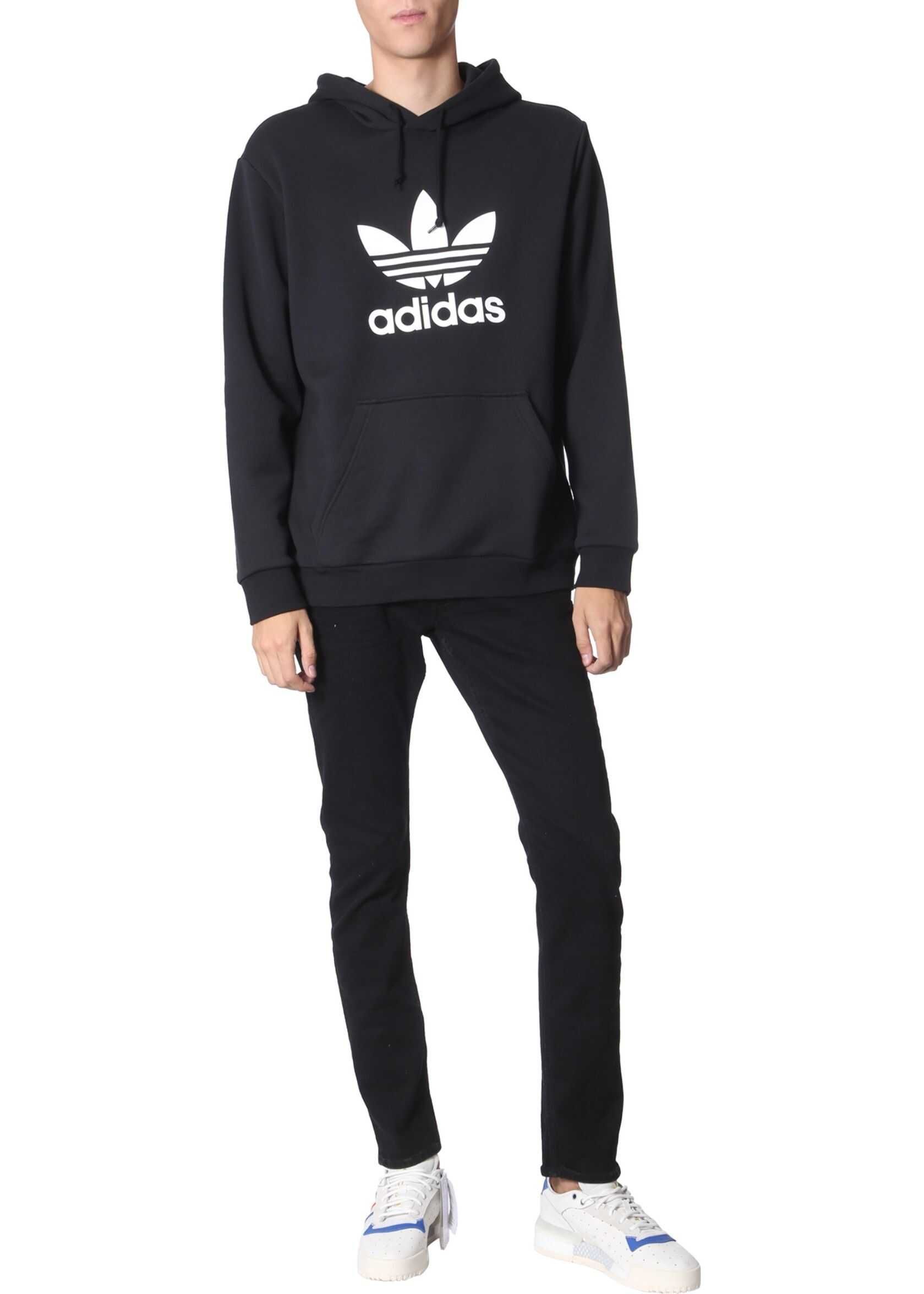 adidas Originals Hooded Sweatshirt BLACK