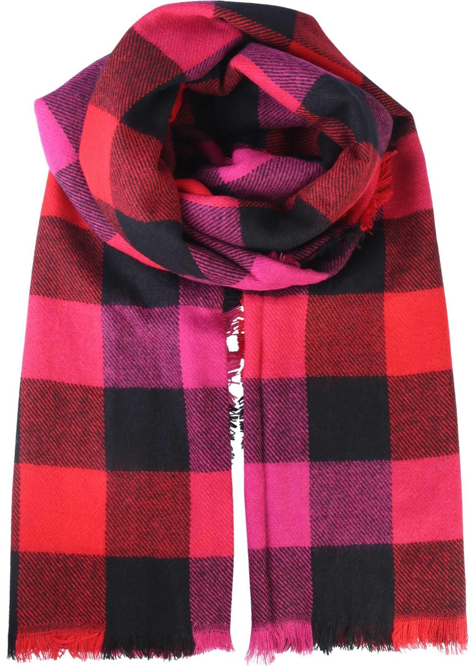 Woolrich Tartan Design Scarf RED
