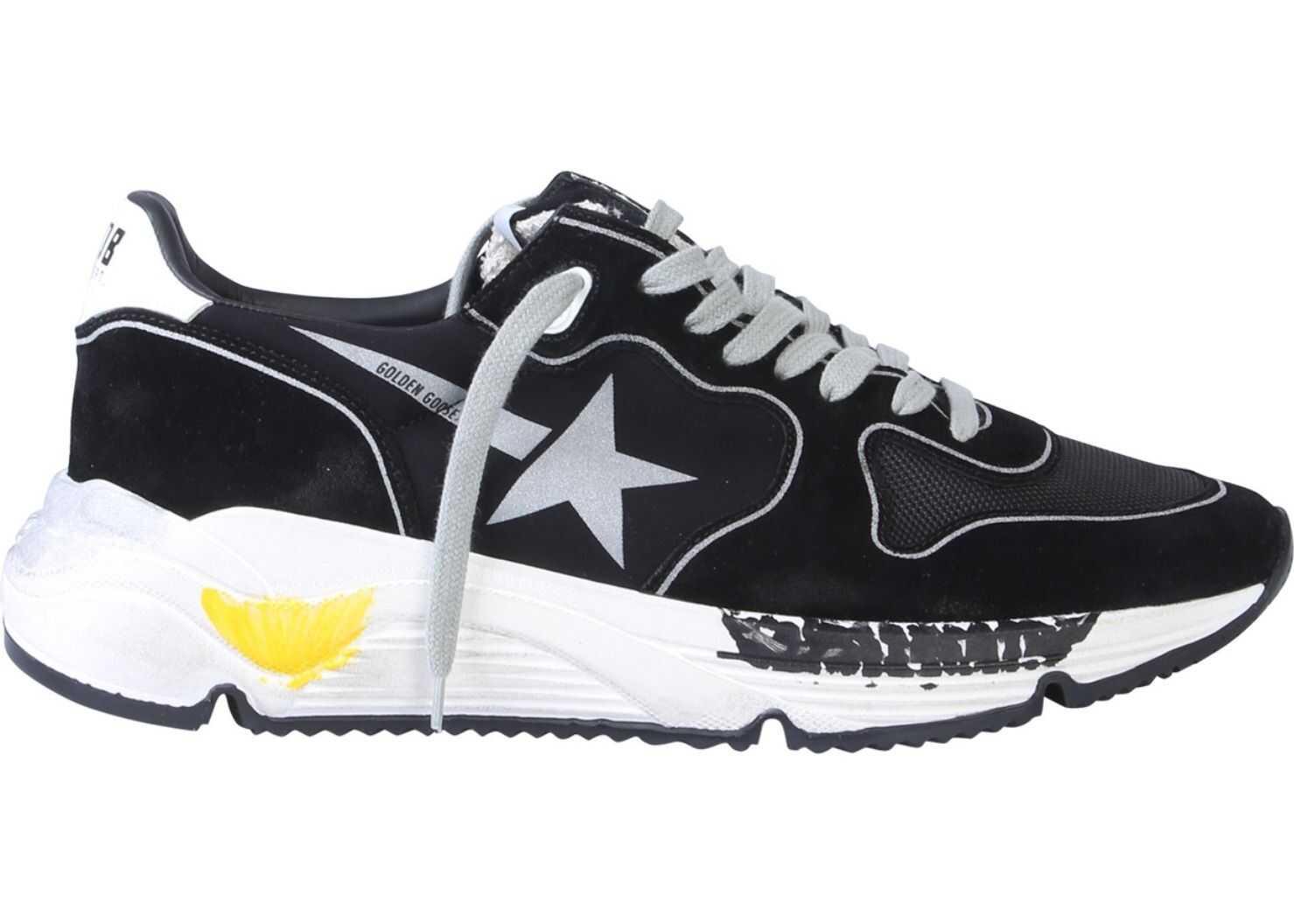 Golden Goose Running Star Sneakers BLACK