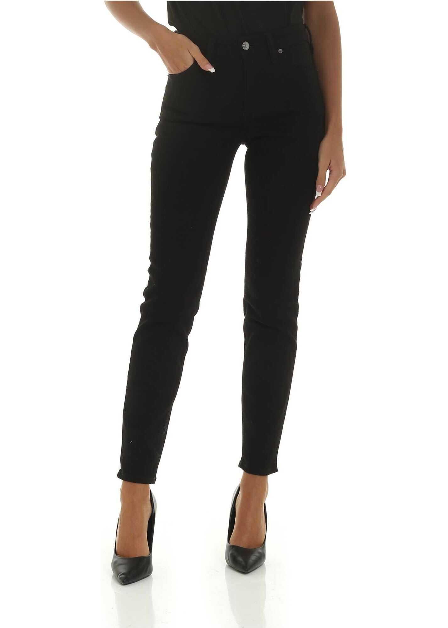 New Skinny 5-Pocket Jeans In Black thumbnail