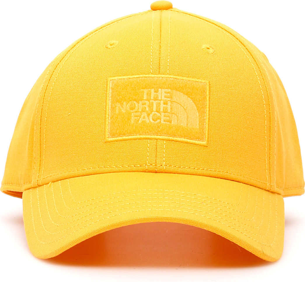 The North Face Logo Baseball Cap YELLOW