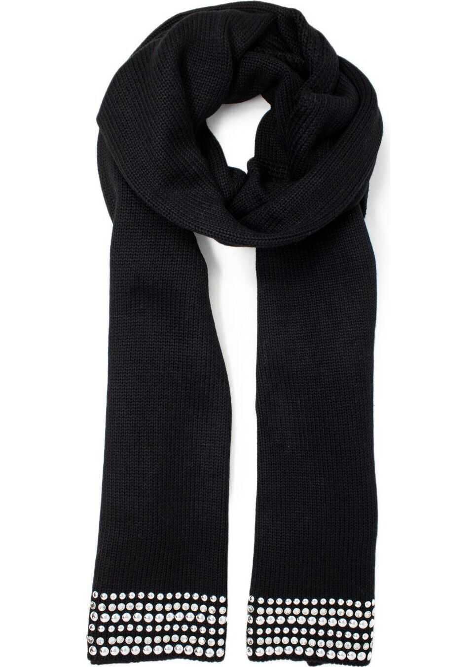 GUESS Polyester Scarf BLACK
