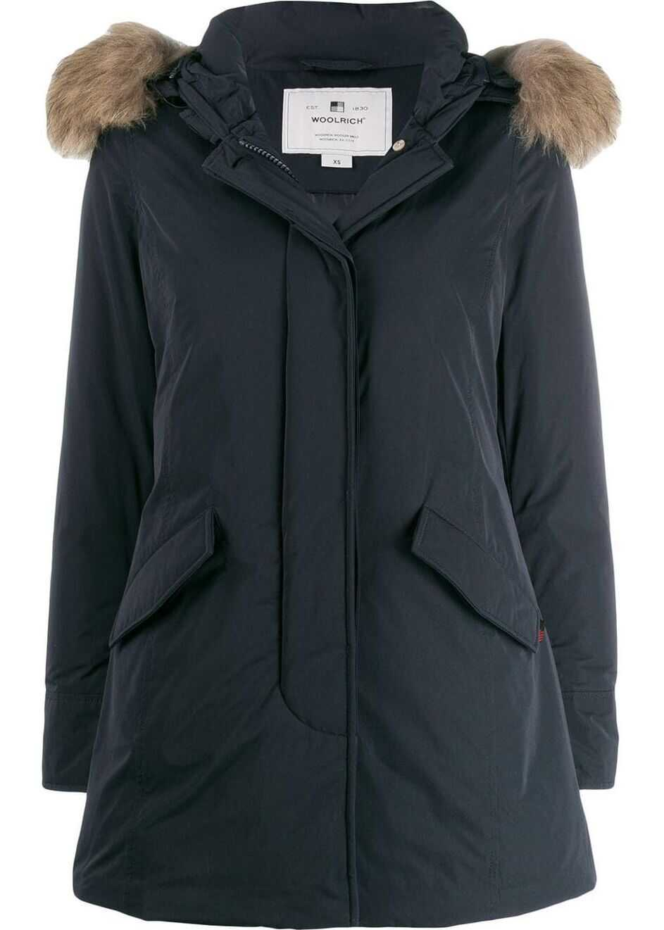 Woolrich Cotton Outerwear Jacket BLUE