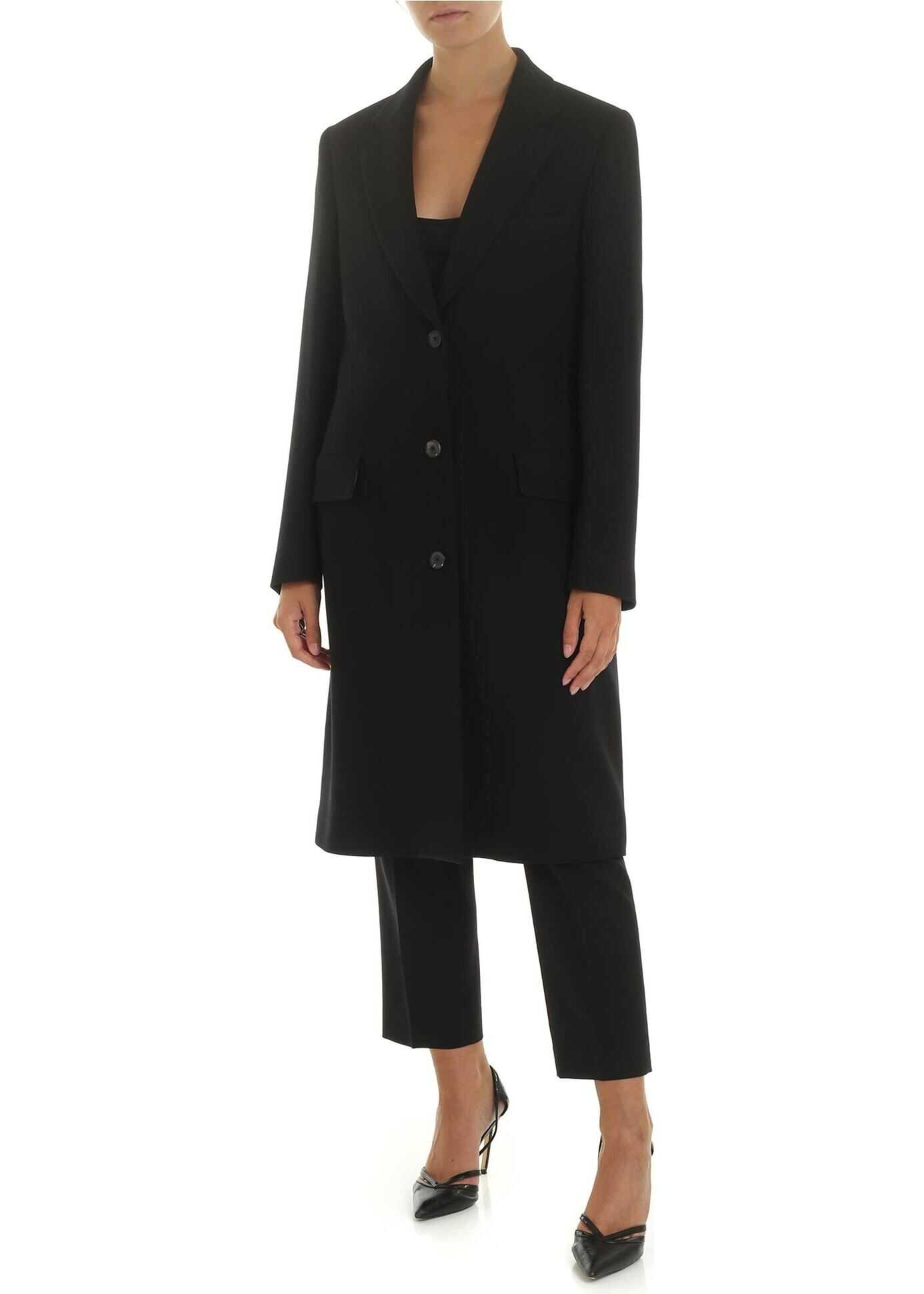 Black Wool Coat thumbnail